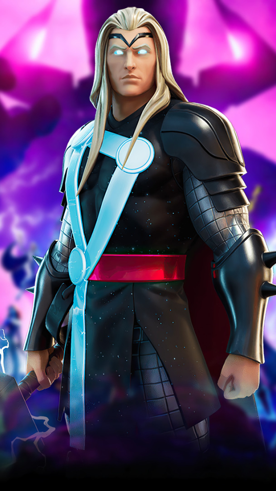 Marvel Thor Fortnite Wallpaper in 540x960 Resolution