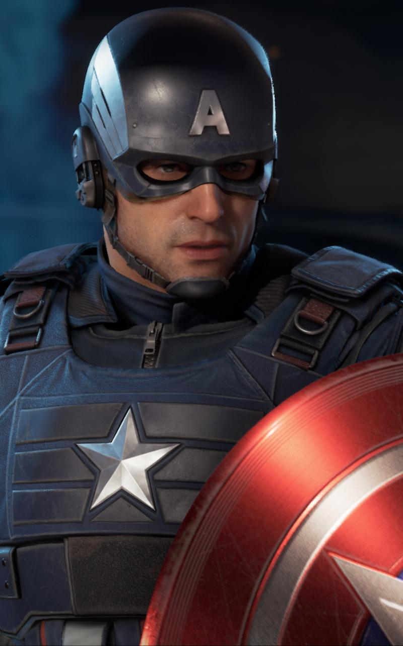 800x1280 Marvels Avengers Captain America Nexus 7,Samsung ...