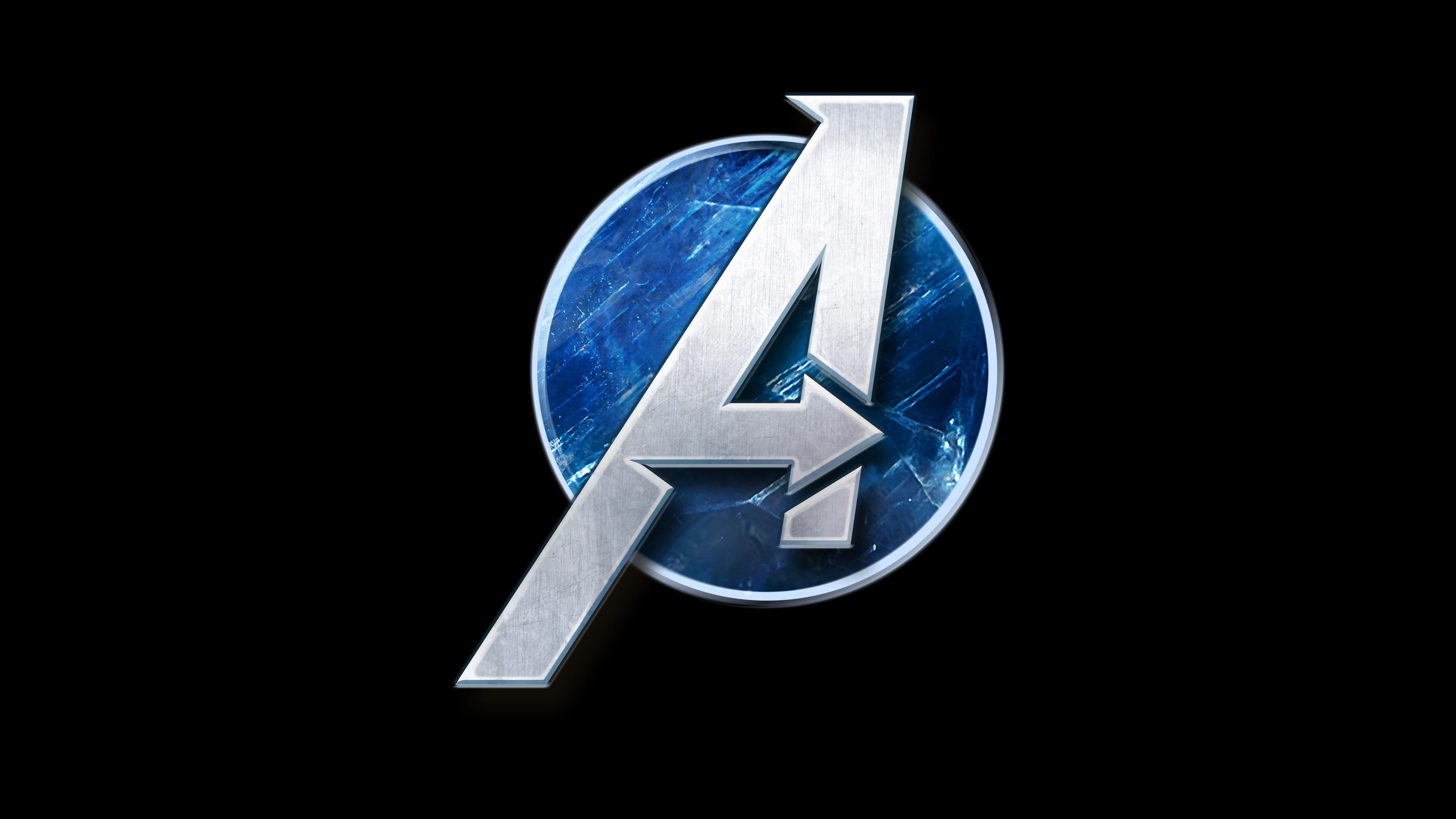 2048x1152 Marvels Avengers Game Logo 2048x1152 Resolution