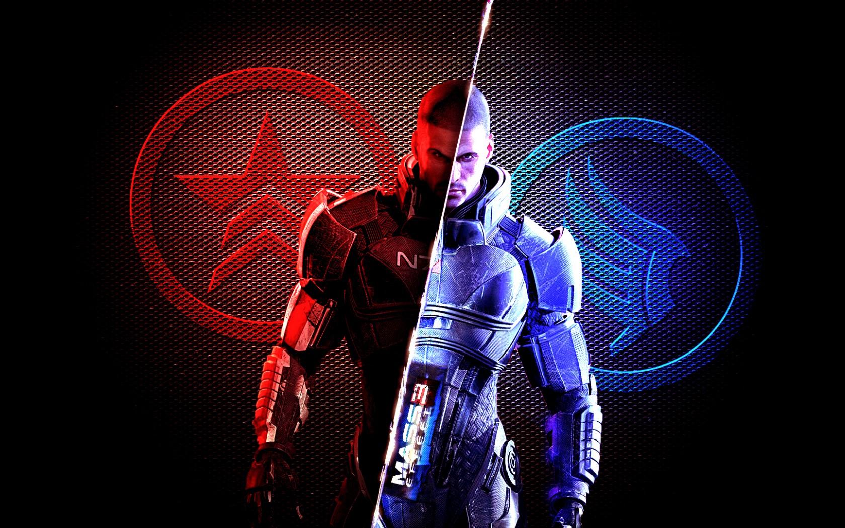 mass effect, character, armor Wallpaper, HD Games 4K ...