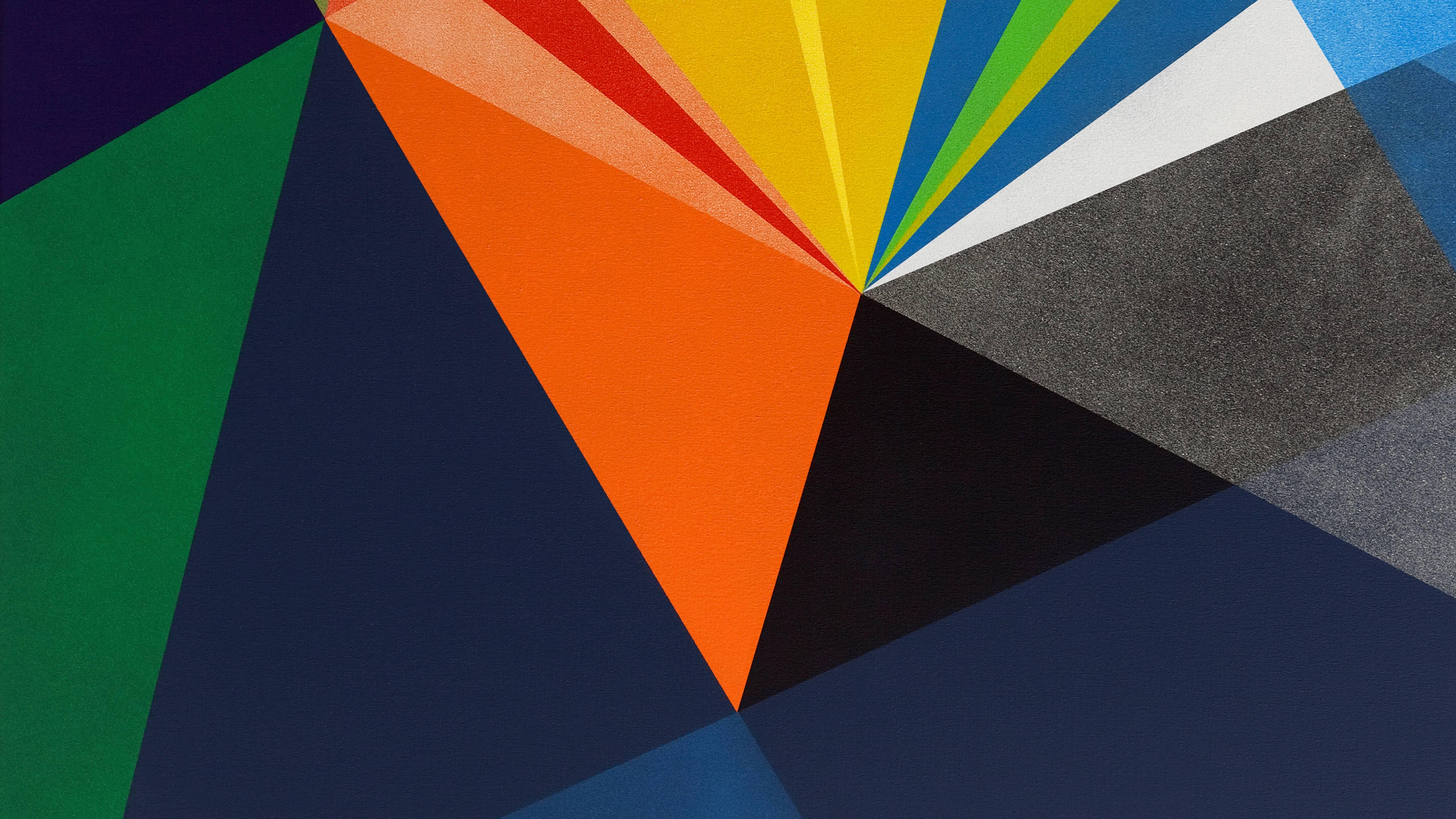Material Abstract Shapes Wallpaper Hd Abstract 4k