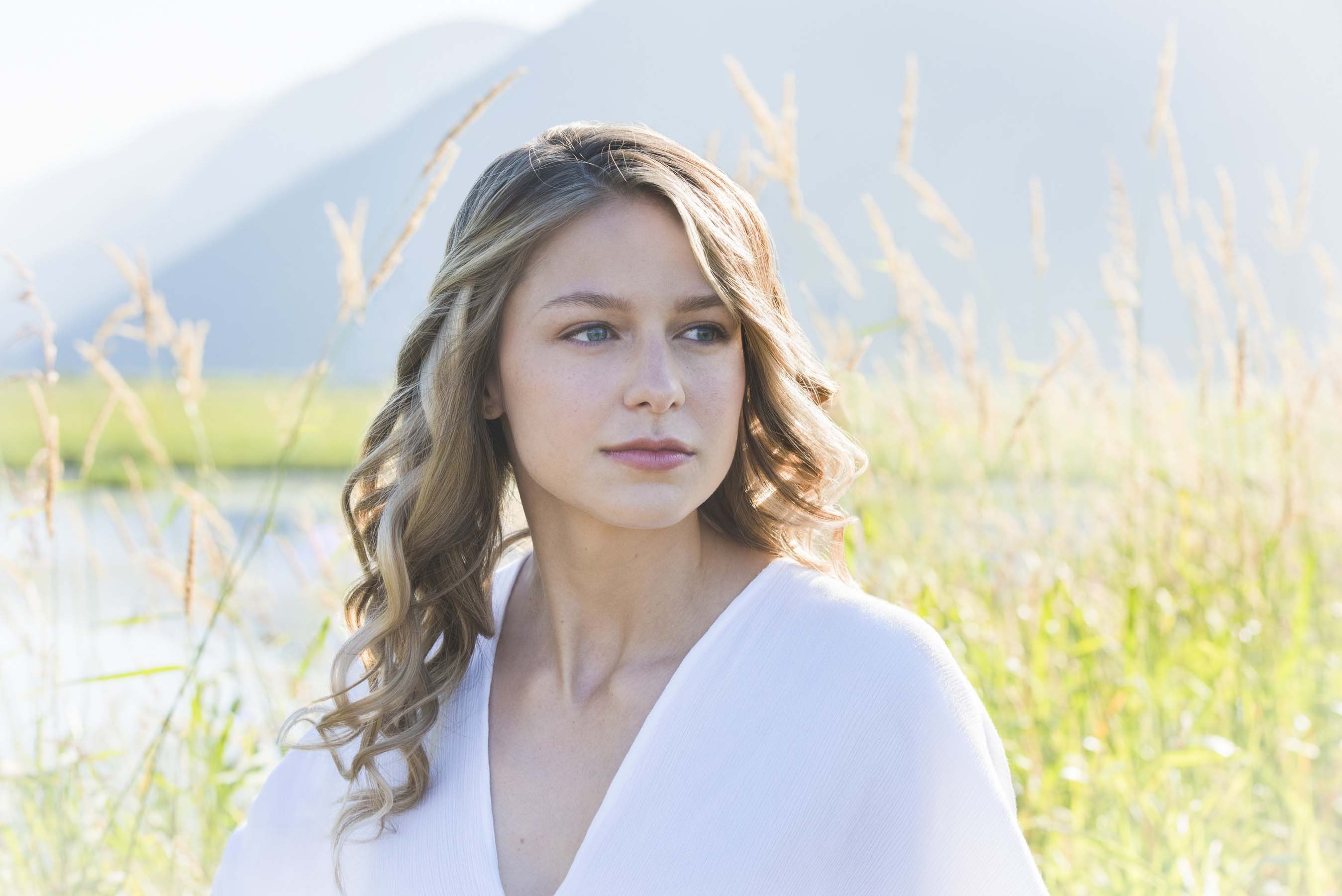 Melissa Benoist Cute 2017, Full HD 2K Wallpaper