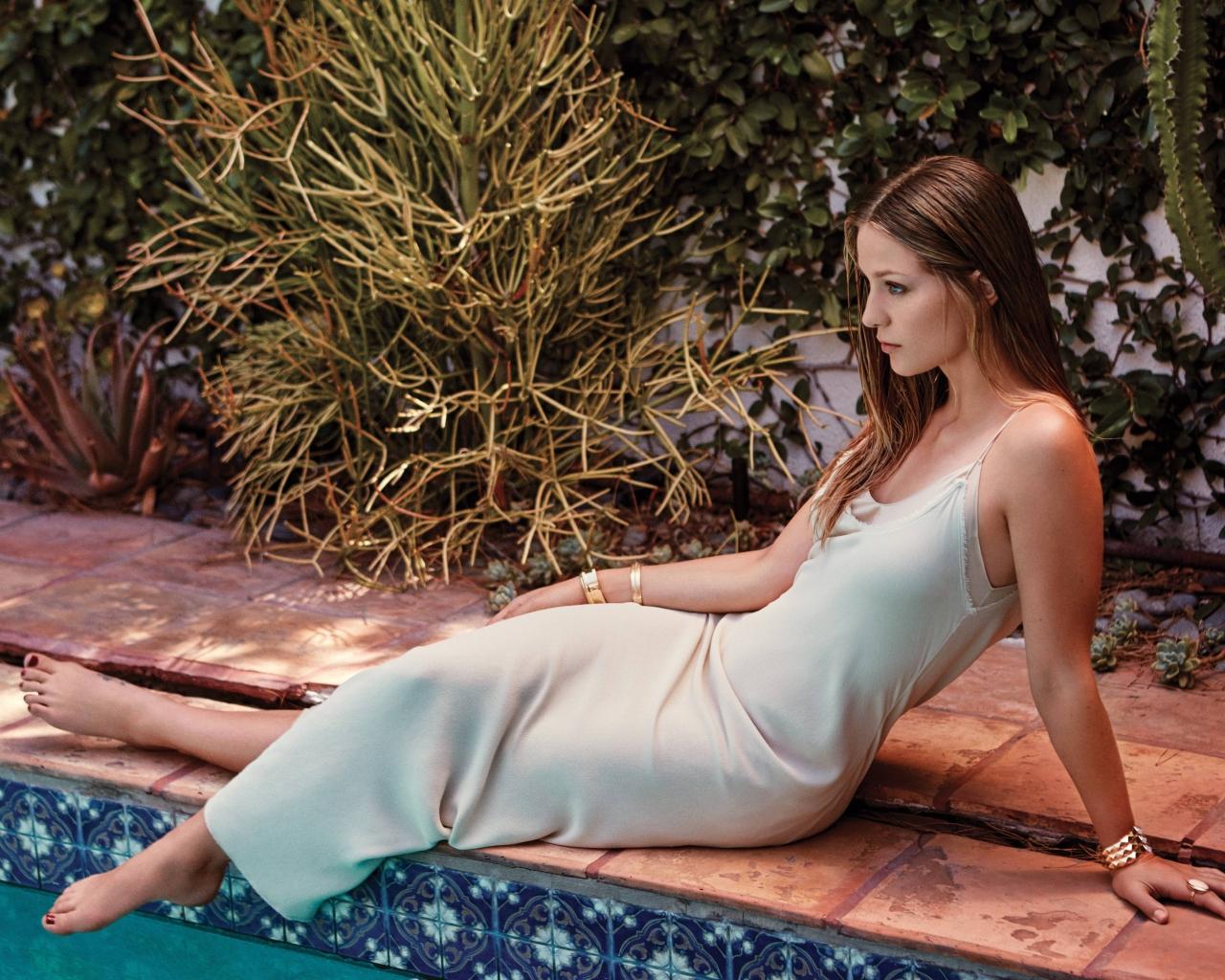 Melissa Gorga 4k Wallpapers: Melissa Benoist Hot 2017, HD 4K Wallpaper