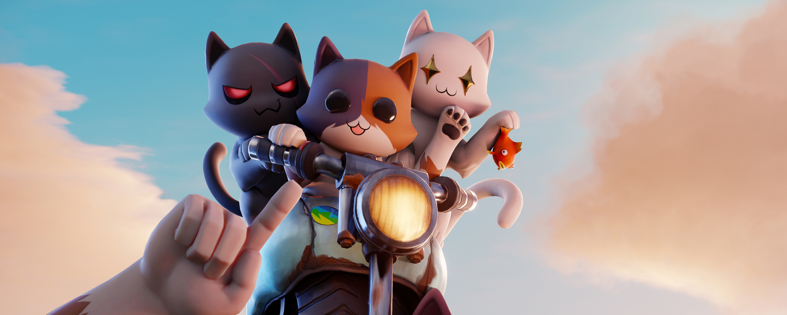 2560x1024 Meowscles Robot Kit Fortnite 2560x1024 Resolution Wallpaper Hd Games 4k Wallpapers Images Photos And Background