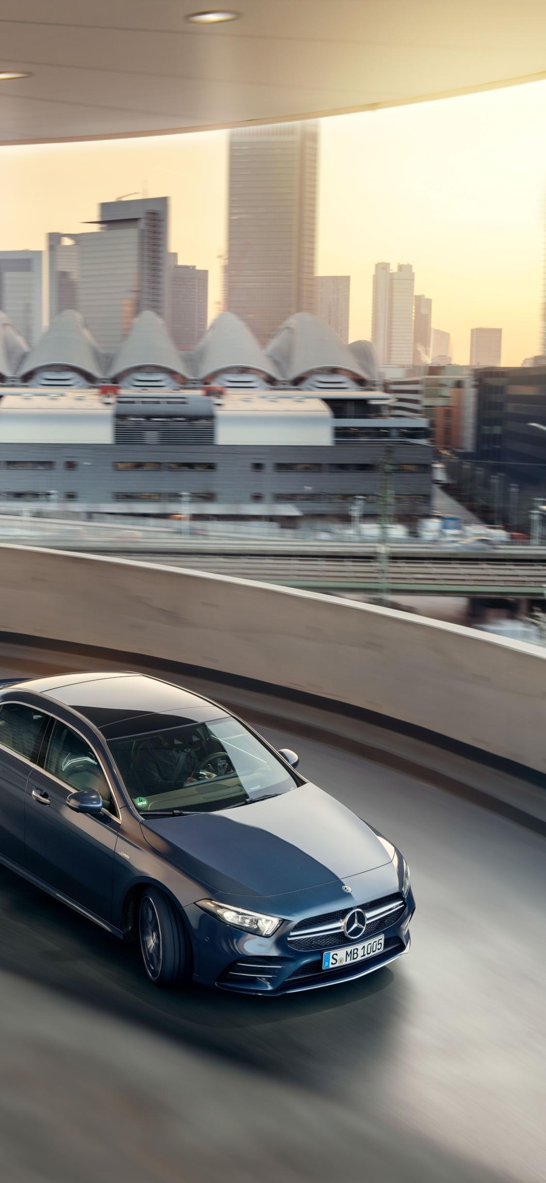 1125x2436 Mercedes Amg A35 Sedan Iphone Xsiphone 10iphone