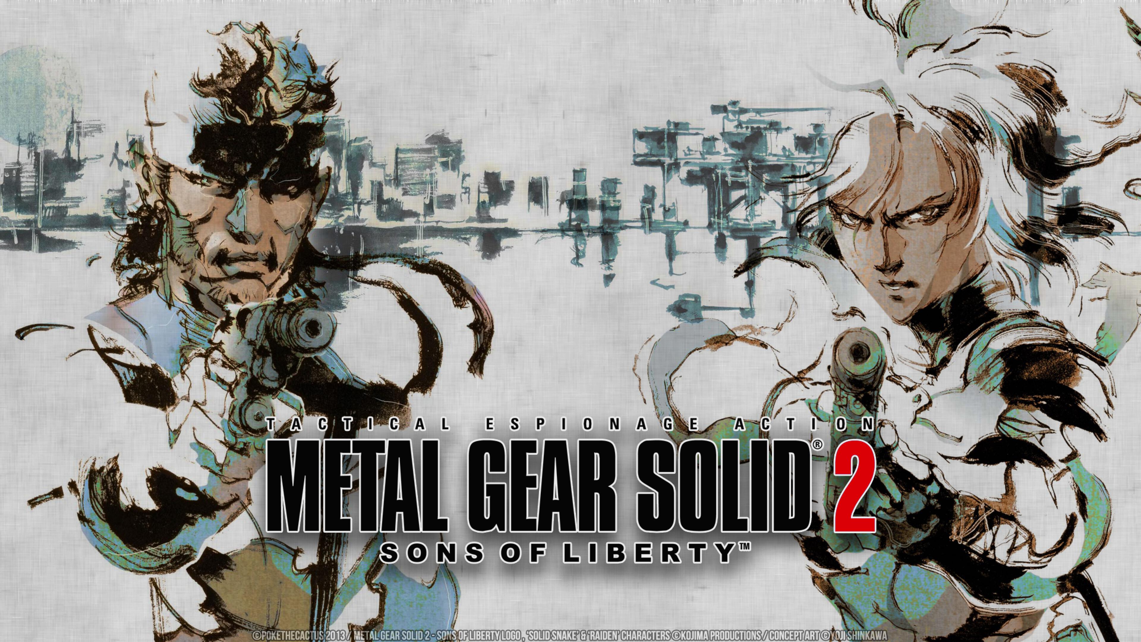 3840x2160 Metal Gear Solid 2 Sons Of Liberty 4k Wallpaper Hd