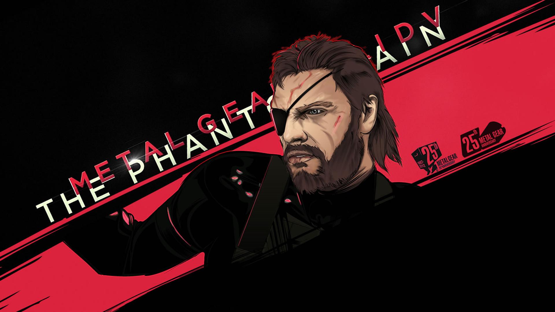 Metal Gear Solid V The Phantom Pain Wallpaper Hd Games 4k