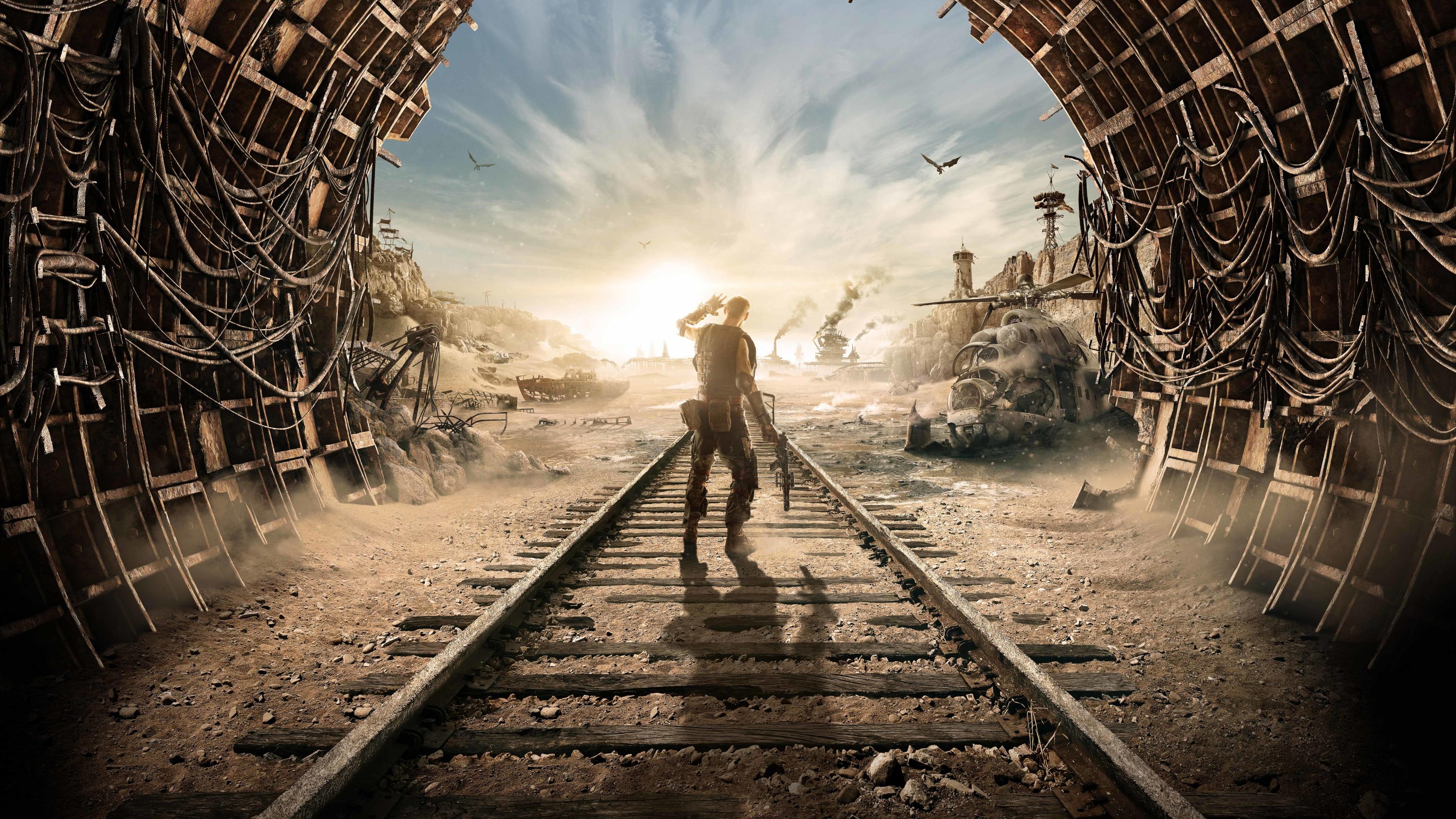 3840x2160 Metro Exodus 4k 8k Poster 4K Wallpaper, HD Games ...