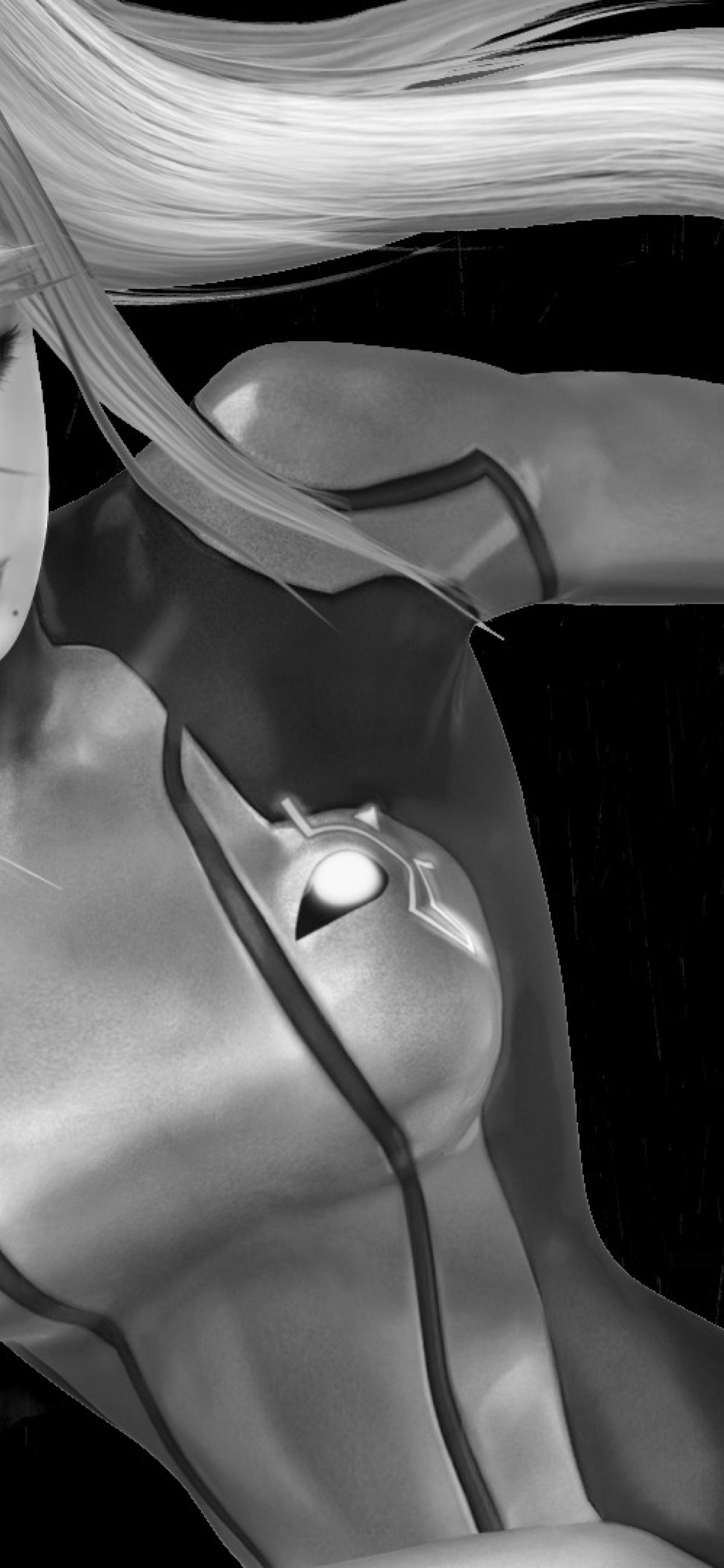 1242x2688 Metroid Samus Aran Zero Suit Iphone Xs Max Wallpaper Hd