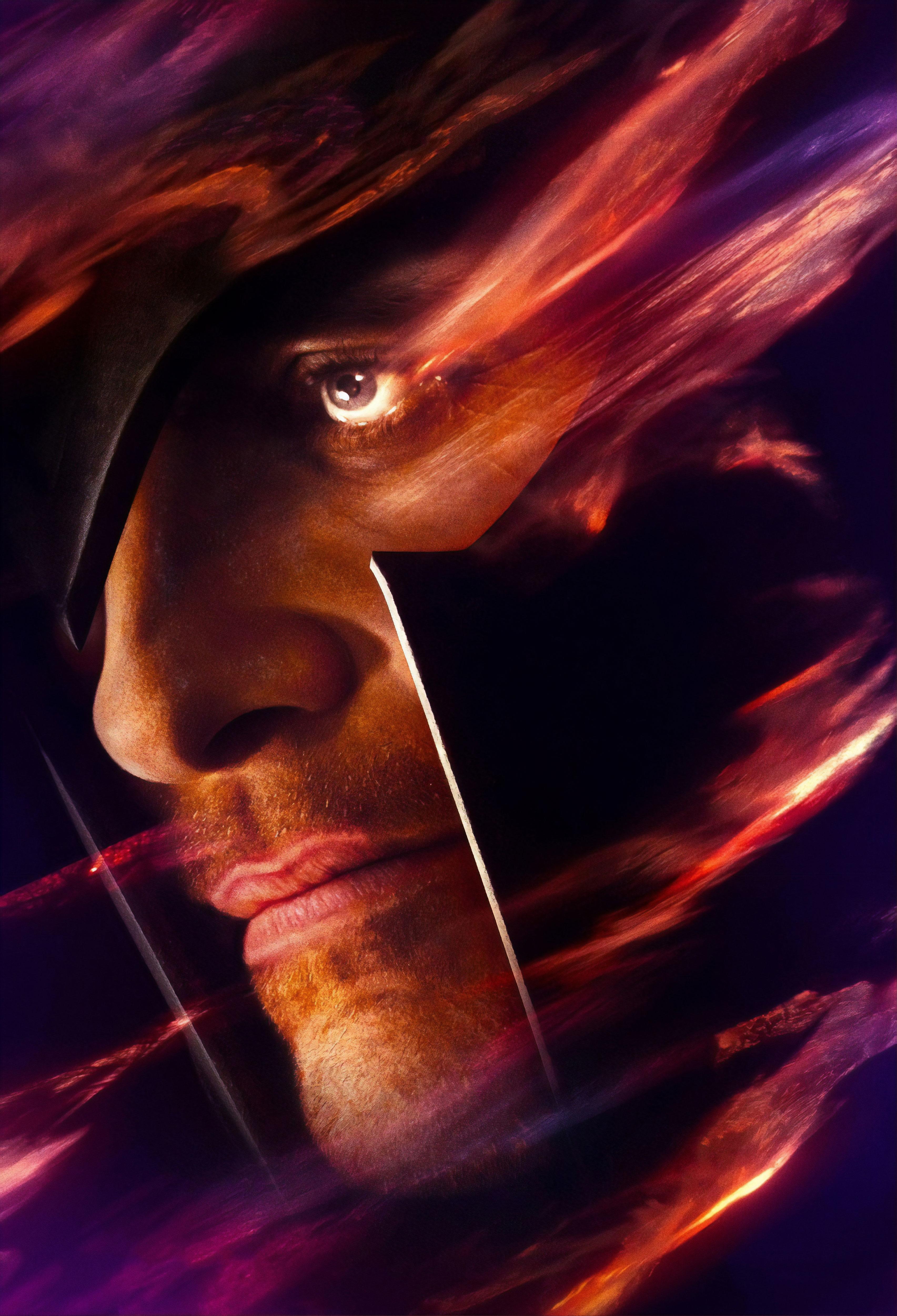 Michael Fassbender As Magneto X Men Dark Phoenix Poster