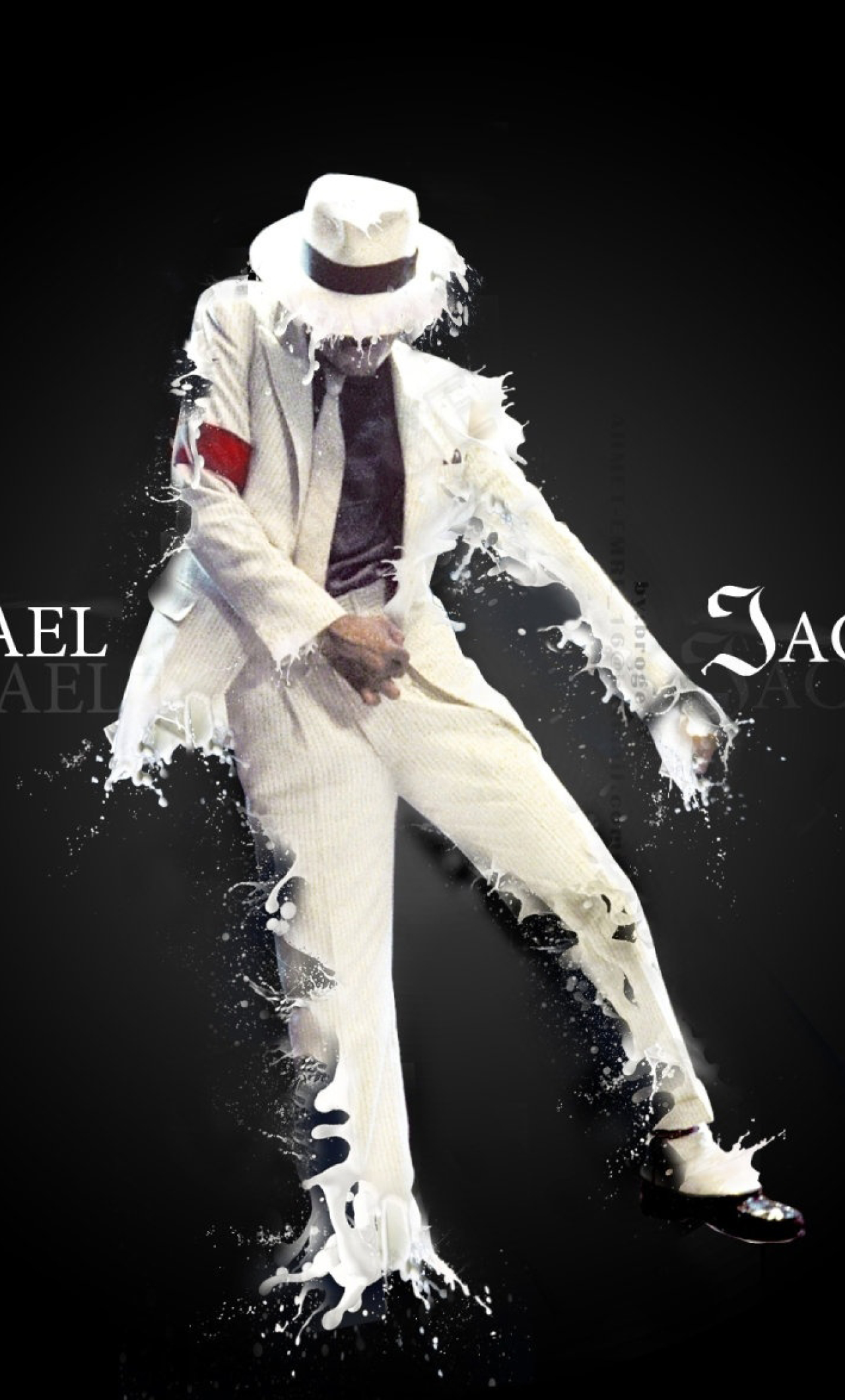 Download Michael Jackson Photoshoot 320x480 Resolution