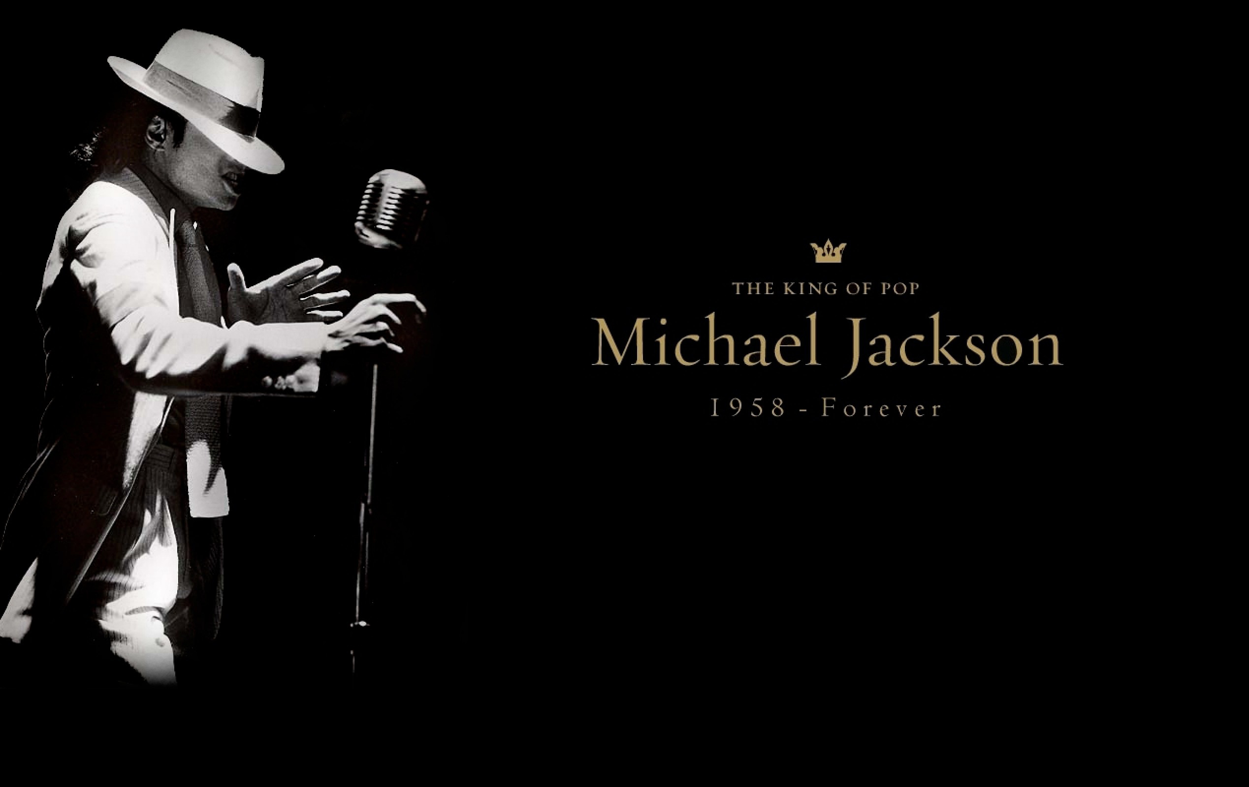Michael Jackson King Of Pop Photoshoot Full HD 2K Wallpaper