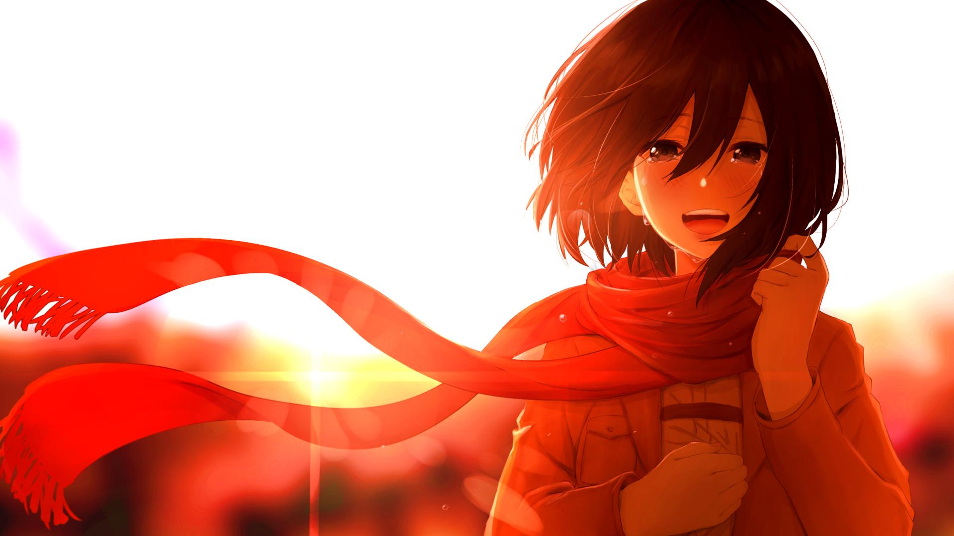 1920x1080 Mikasa Ackerman Anime 1080p Laptop Full Hd