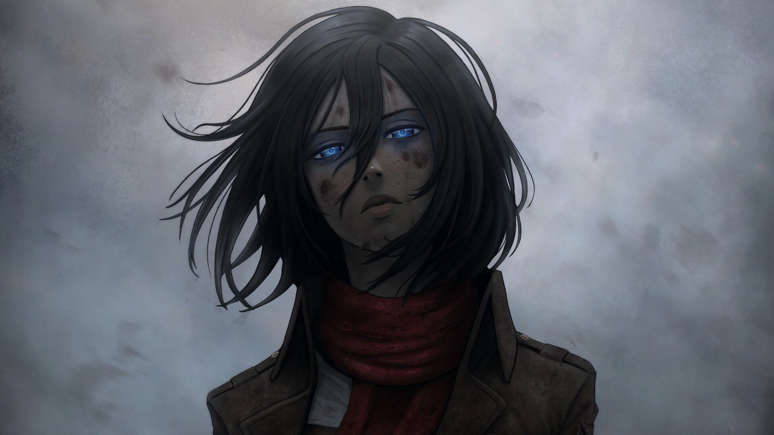 2560x1440 Mikasa Ackerman 1440p Resolution Wallpaper Hd
