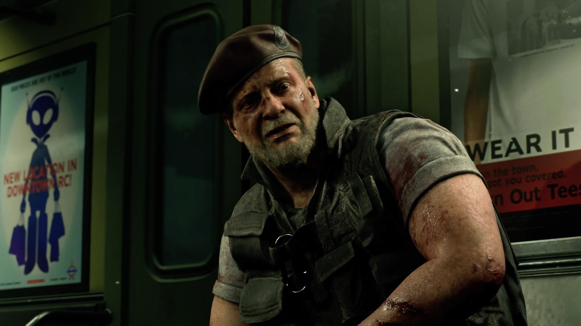 Mikhail Viktor Resident Evil 3 Remake Wallpaper Hd Games 4k