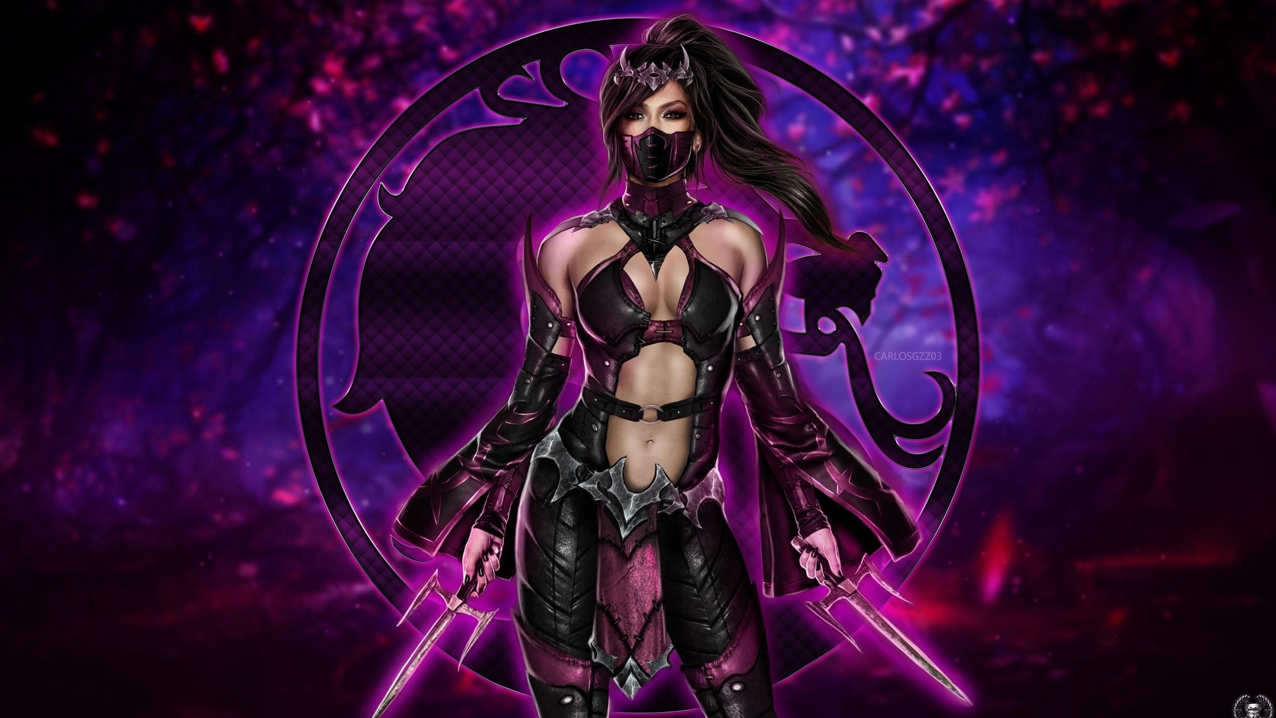 2560x1440 Mileena Mortal Kombat 11