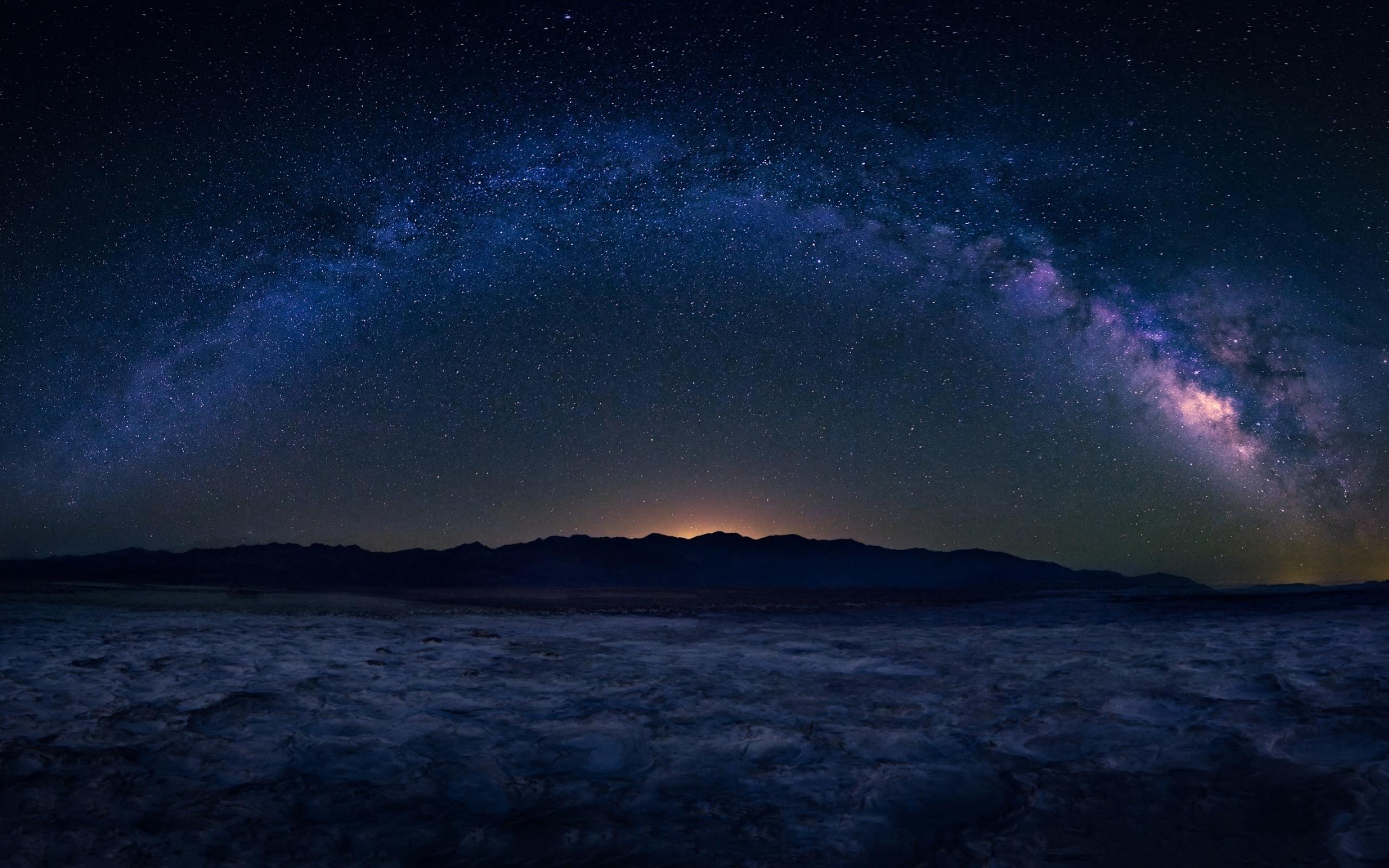 2560x1600 Milky Way Starry Sky Landscape 2560x1600 ...