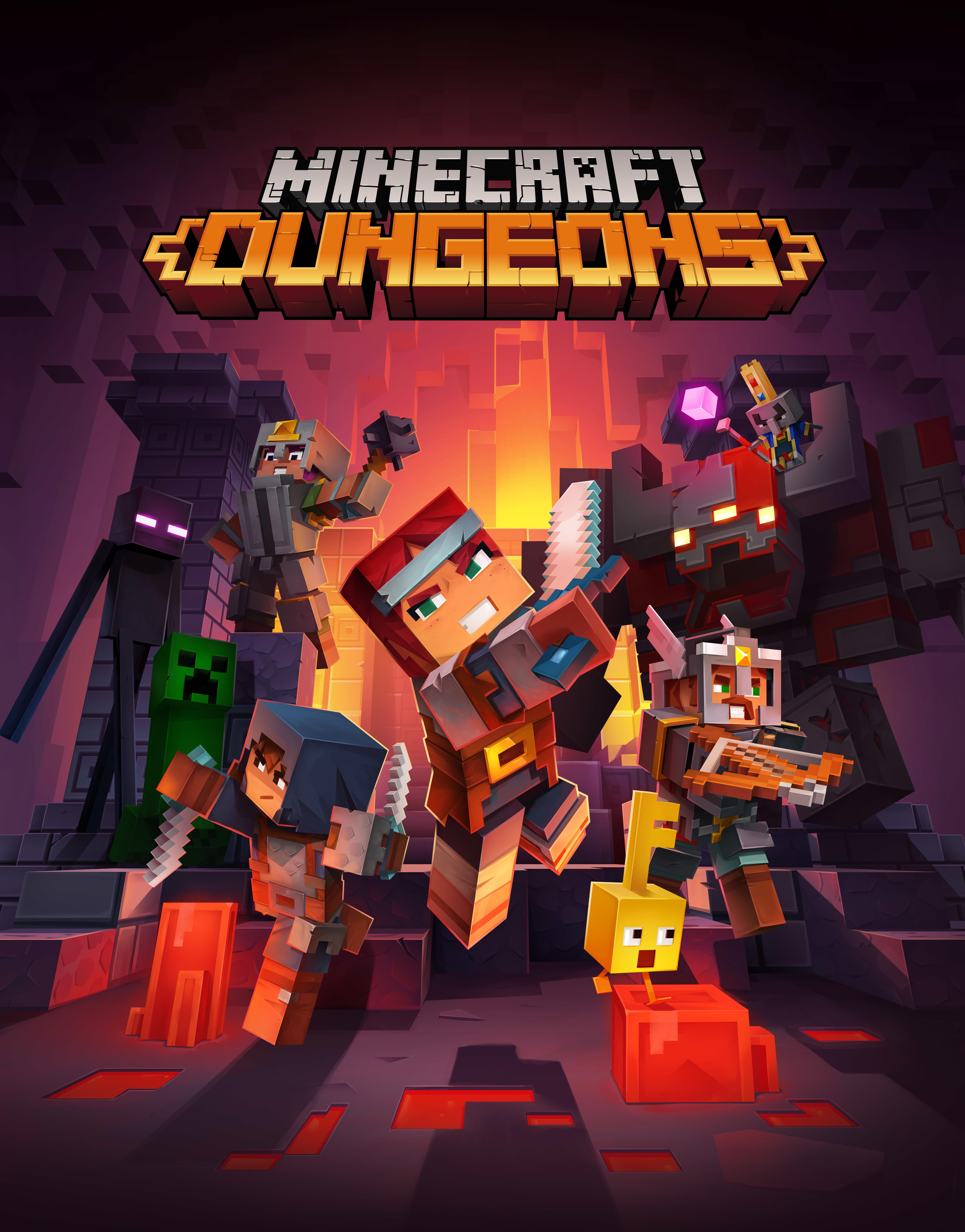 Minecraft Dungeons Wallpaper, HD Games 4K Wallpapers ...