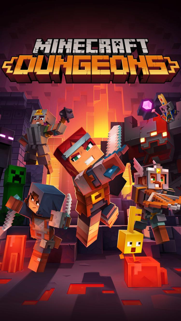 750x1334 Minecraft Dungeons iPhone 6 ...