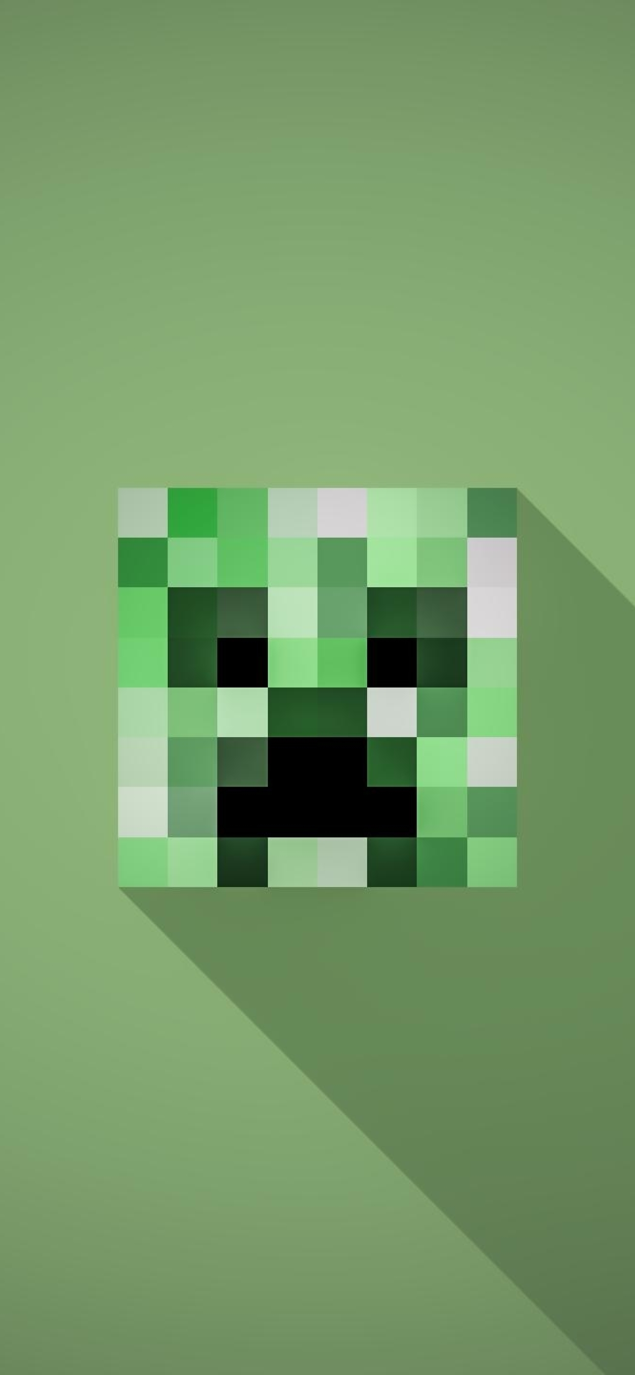 1242x2688 Minecraft Minimalist Creeper Iphone Xs Max Wallpaper Hd Minimalist 4k Wallpapers Images Photos And Background