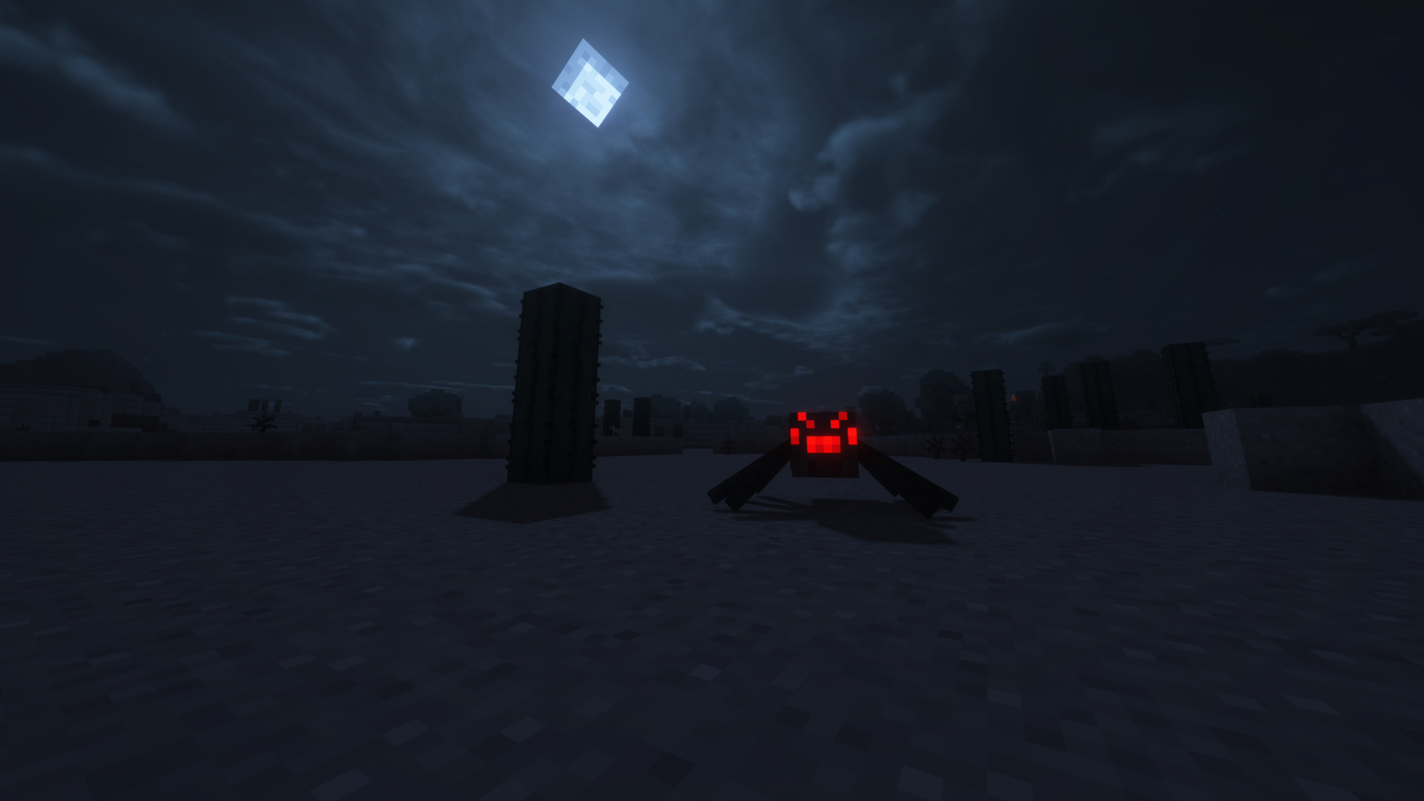 2048x1152 Minecraft Spider Man Into The Night 2048x1152