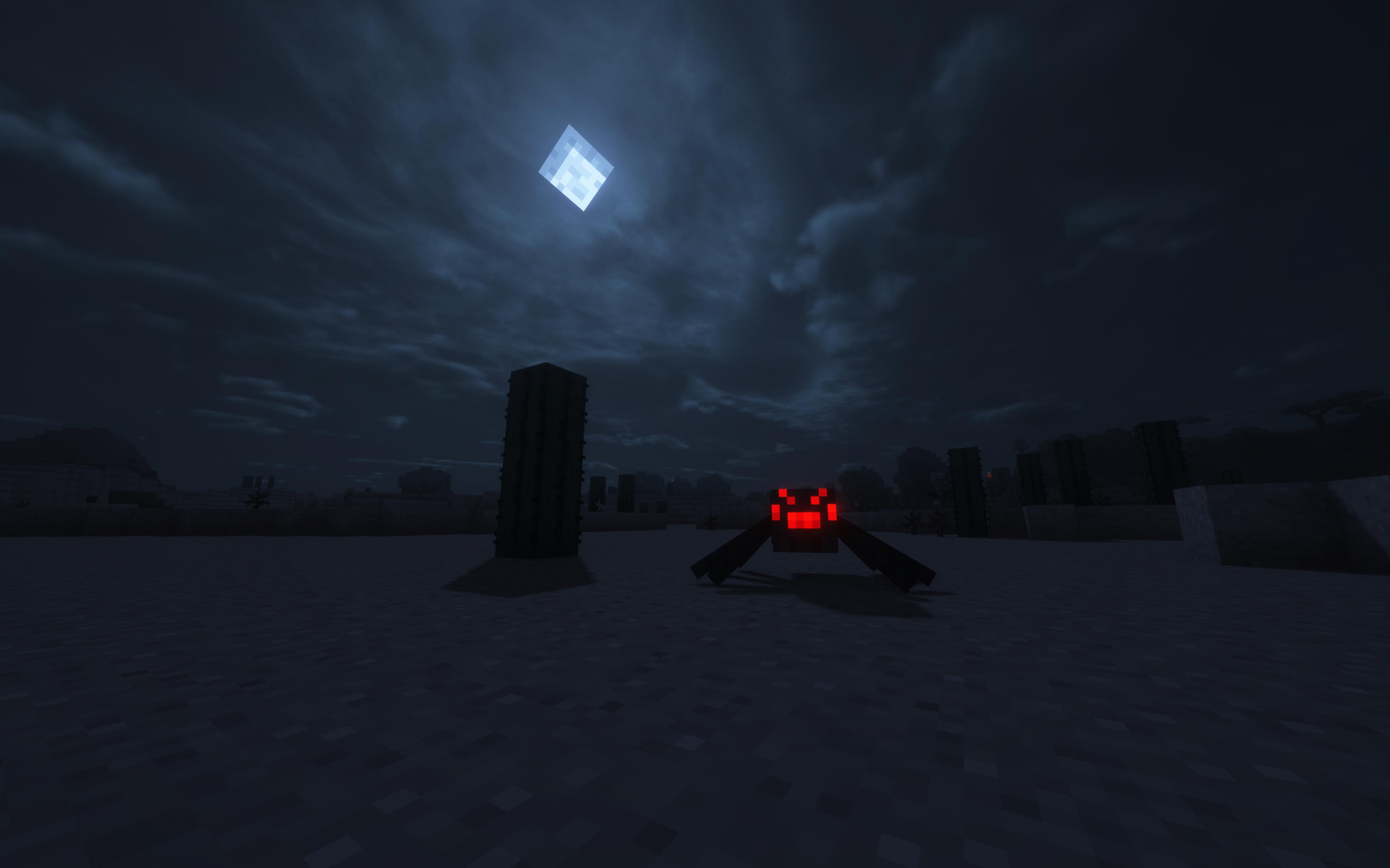 2560x1440 Minecraft Spider Man Into The Night 1440p