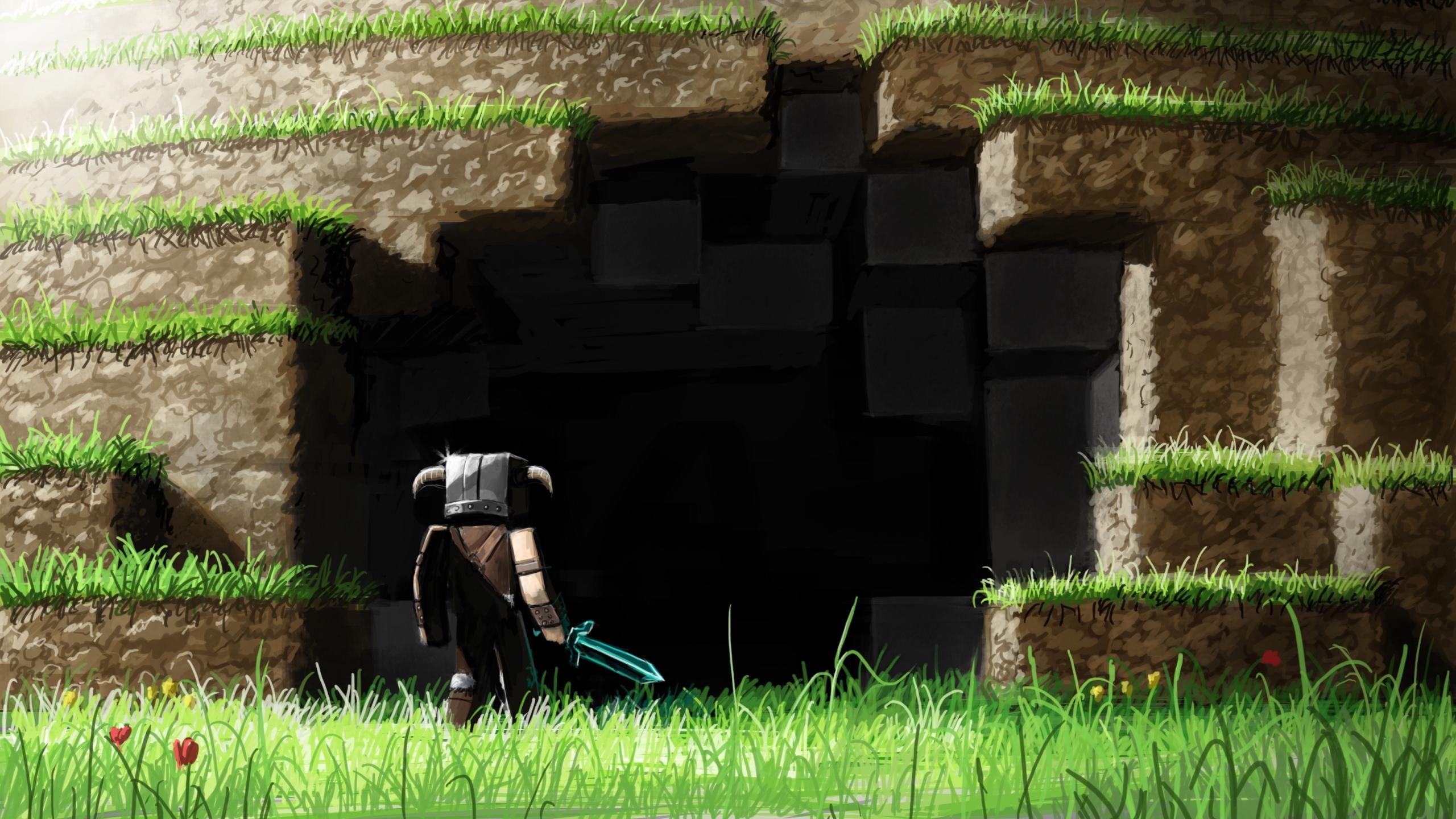 2560x1440 Minecraft 1440p Resolution Wallpaper Hd Games 4k