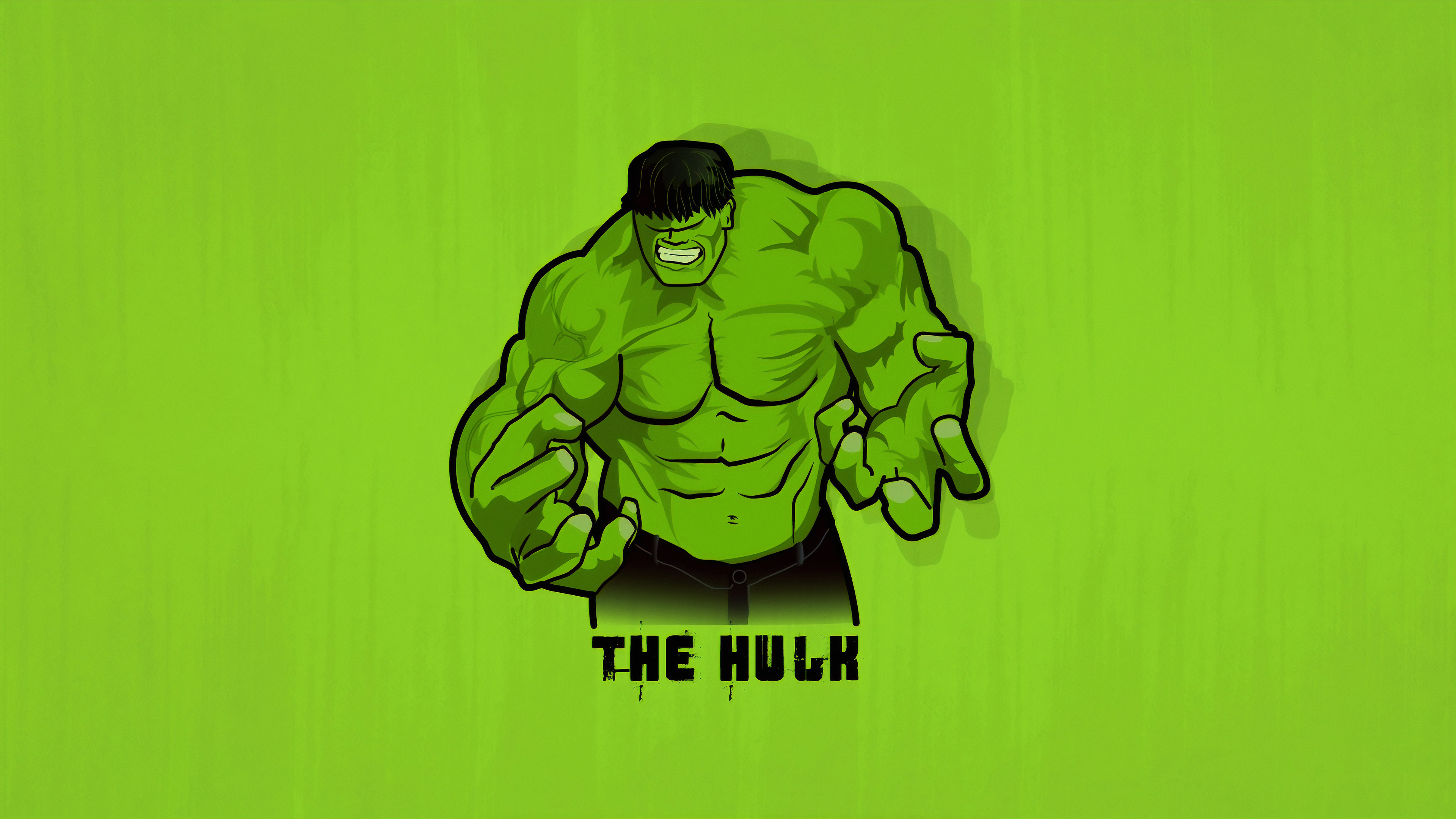 Minimal Hulk Wallpaper Hd Superheroes 4k Wallpapers Images