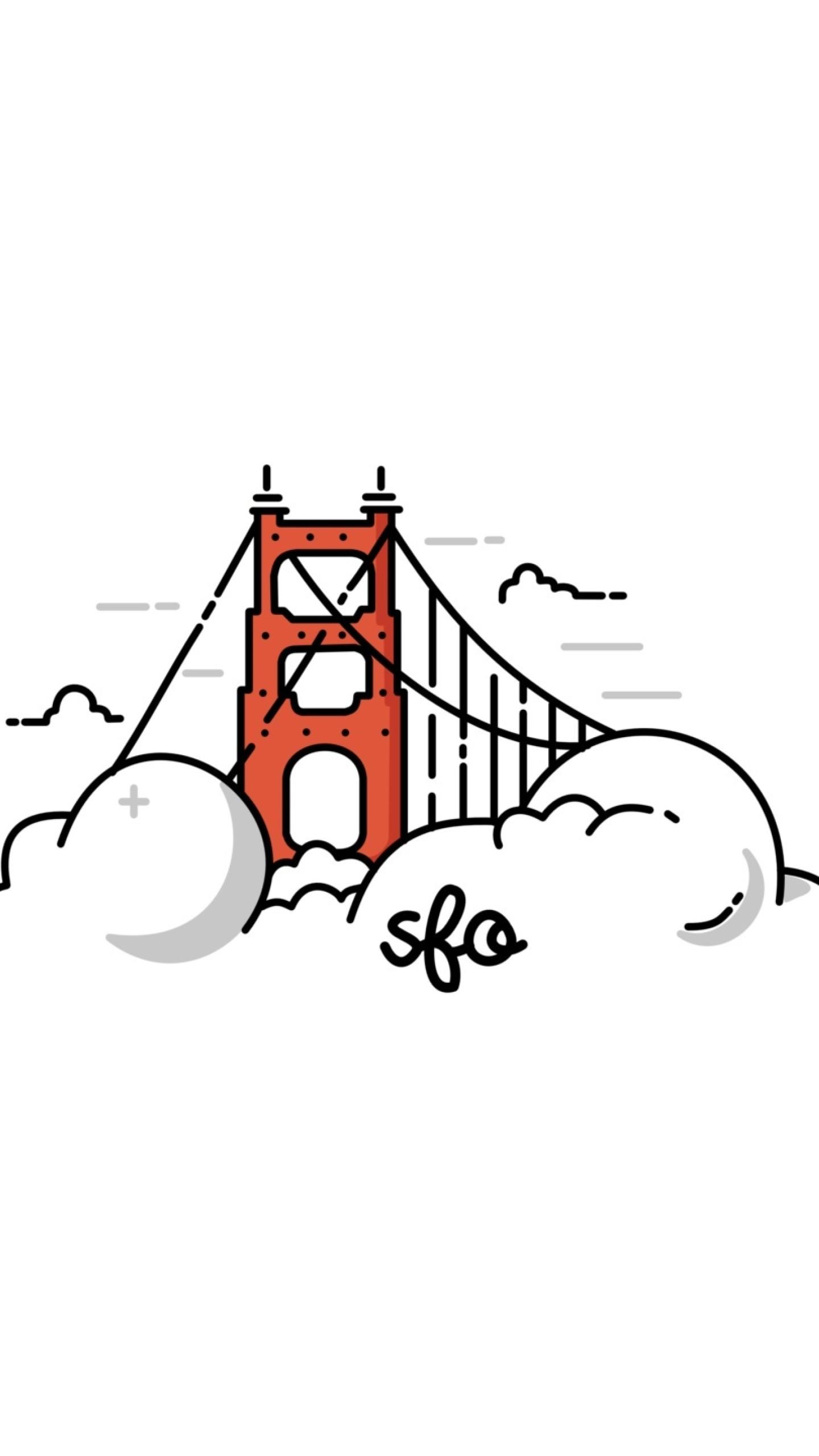 Minimalist Golden Gate Bridge 62412 on Nokia Tab