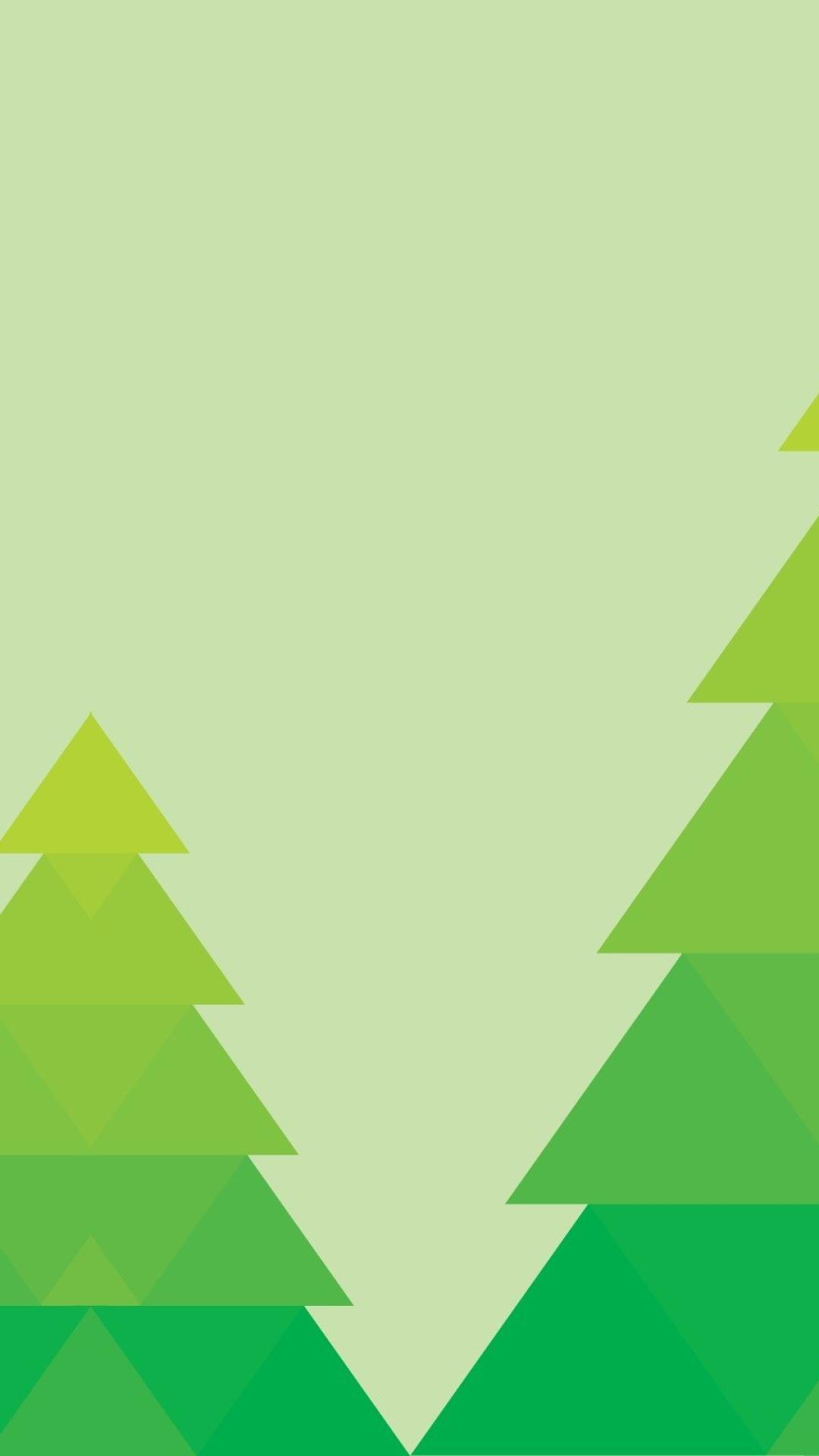 Minimalist Green, Full HD 2K Wallpaper