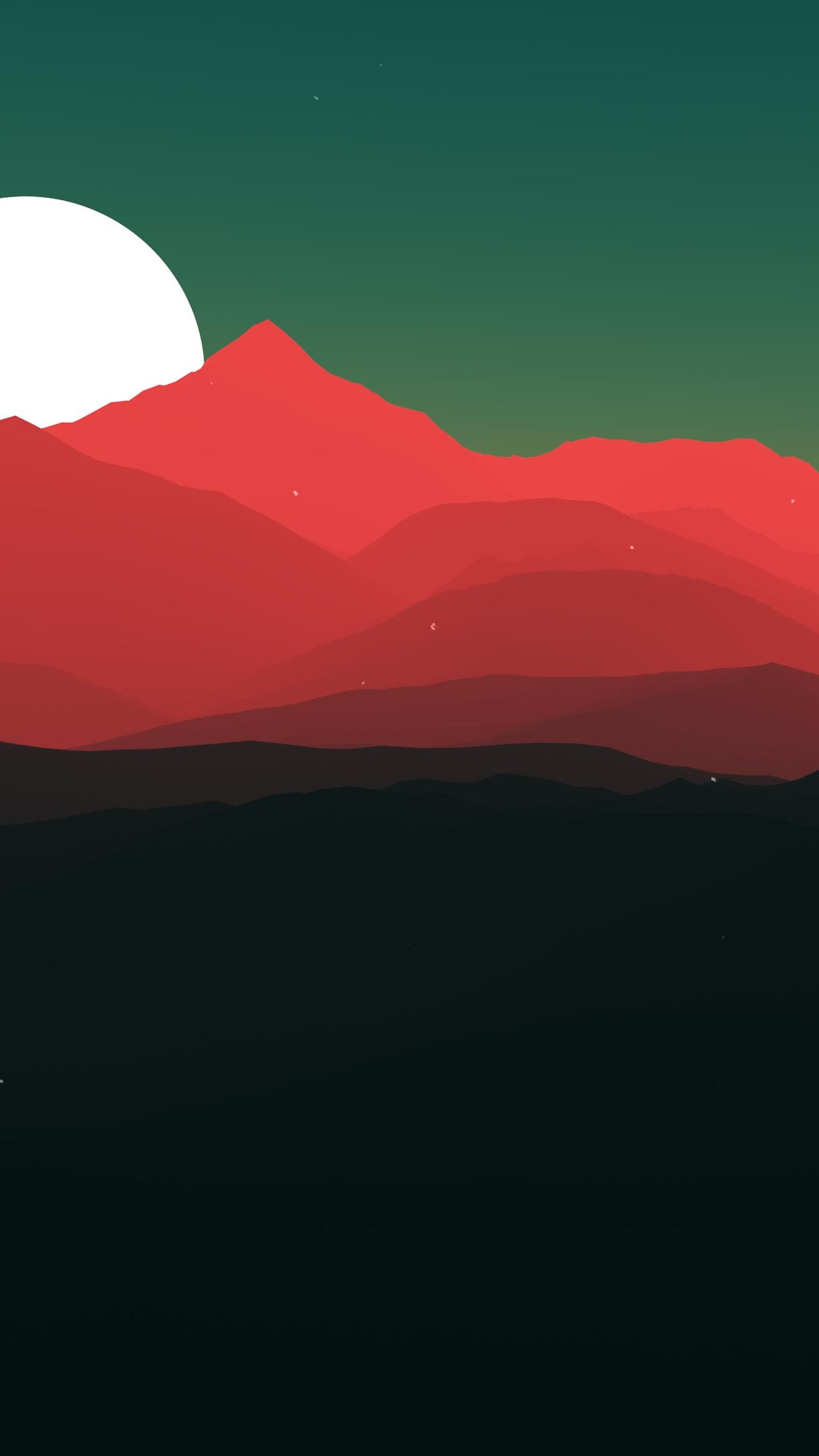 Minimalist Landscape Hd 4k Wallpaper