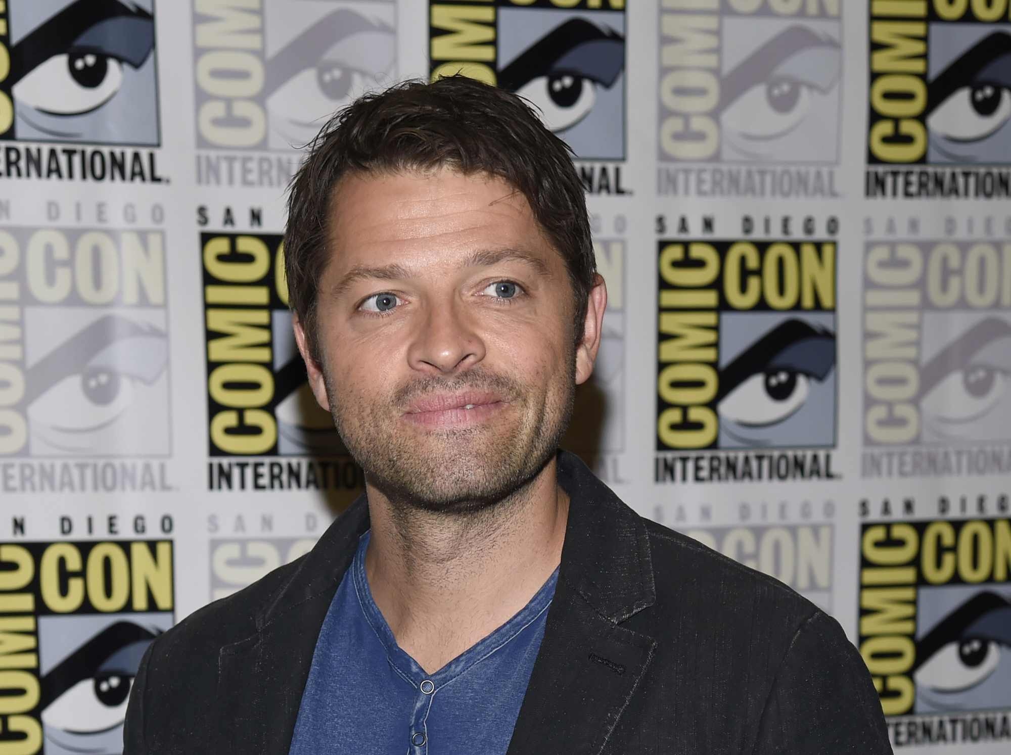 Misha Collins Actor Smile Full HD 2K Wallpaper