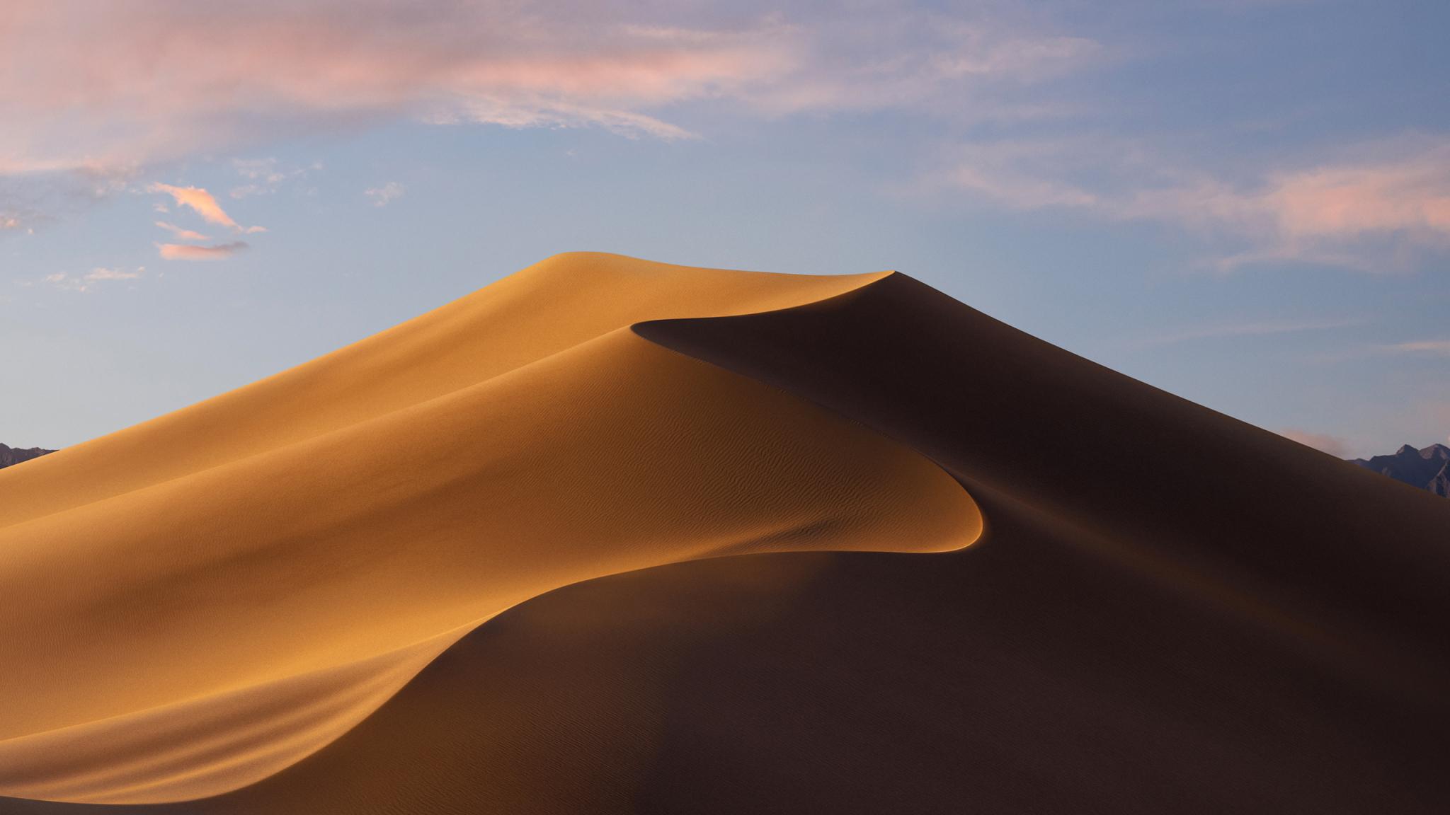 Mojave Day Desert Macos Hd 4k Wallpaper