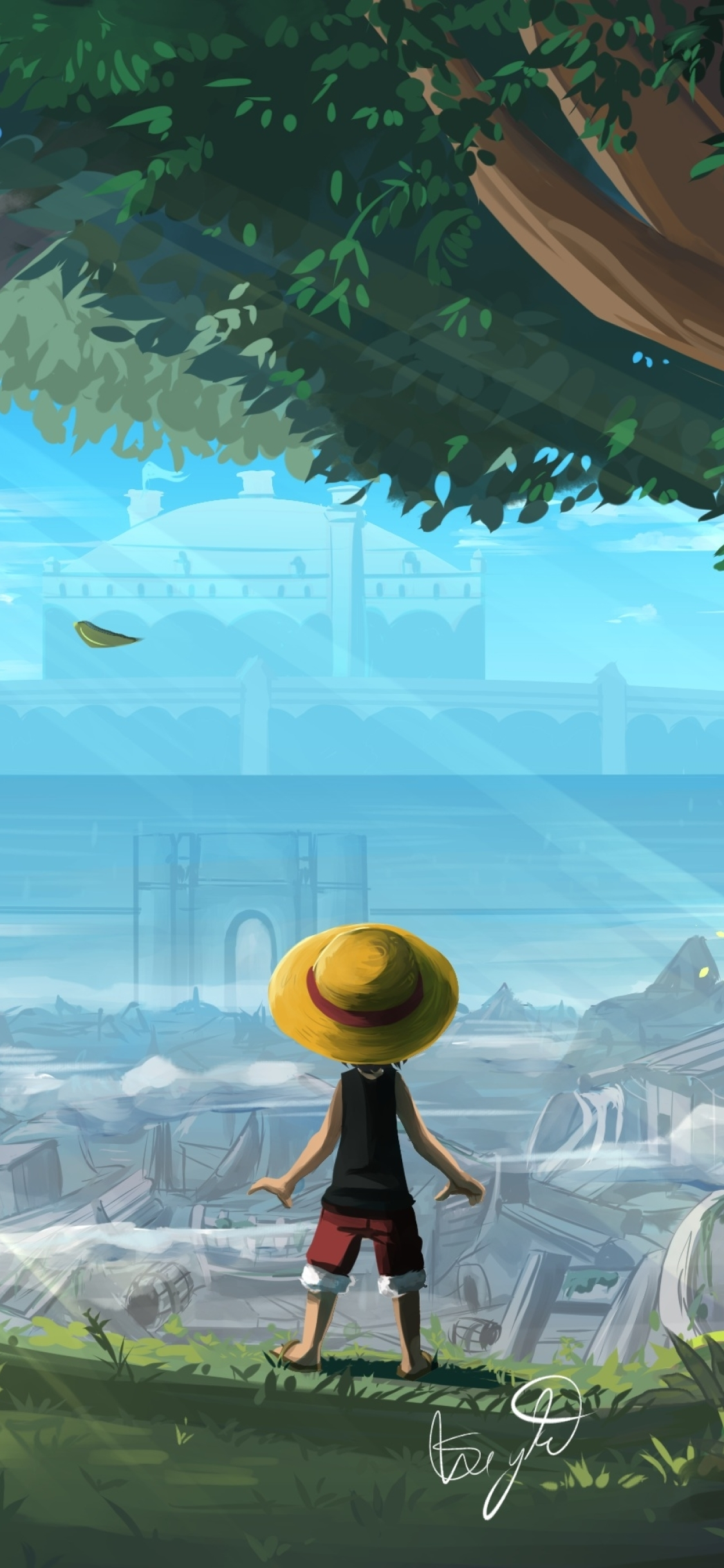 1125x2436 Monkey D Luffy One Piece Art Iphone Xs Iphone 10 Iphone X Wallpaper Hd Artist 4k Wallpapers Images Photos And Background