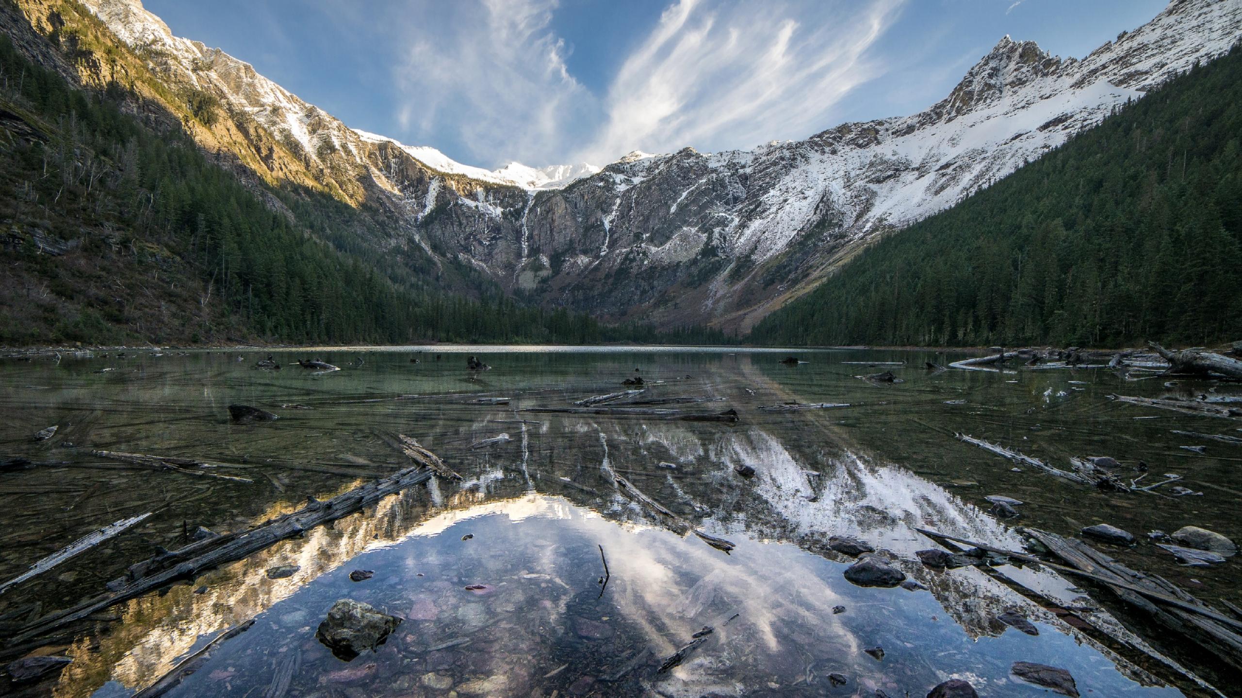 2560x1440 Montana United States Glacier National Park 1440p