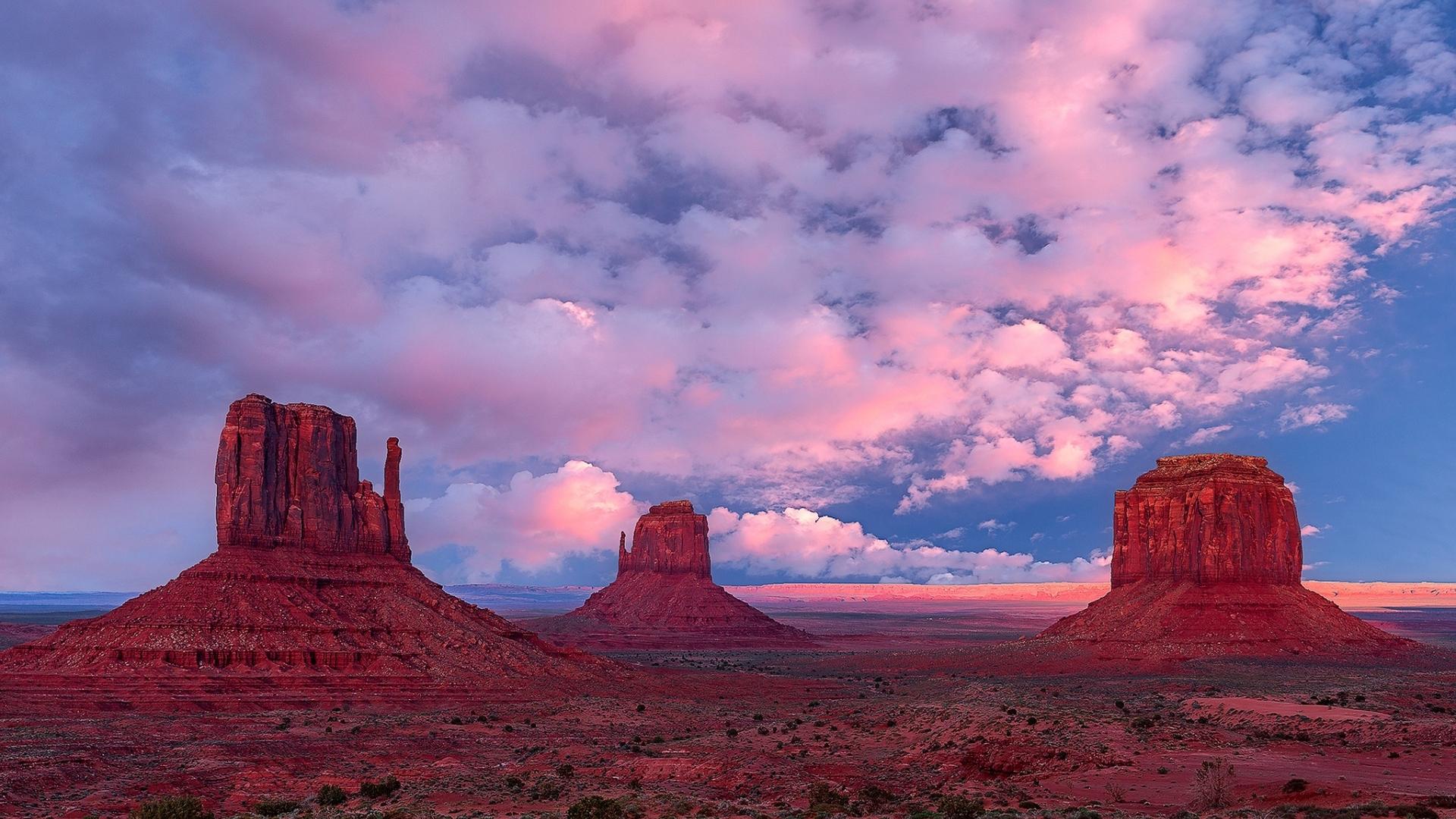 Monument Valley Utah Usa, Full HD 2K Wallpaper