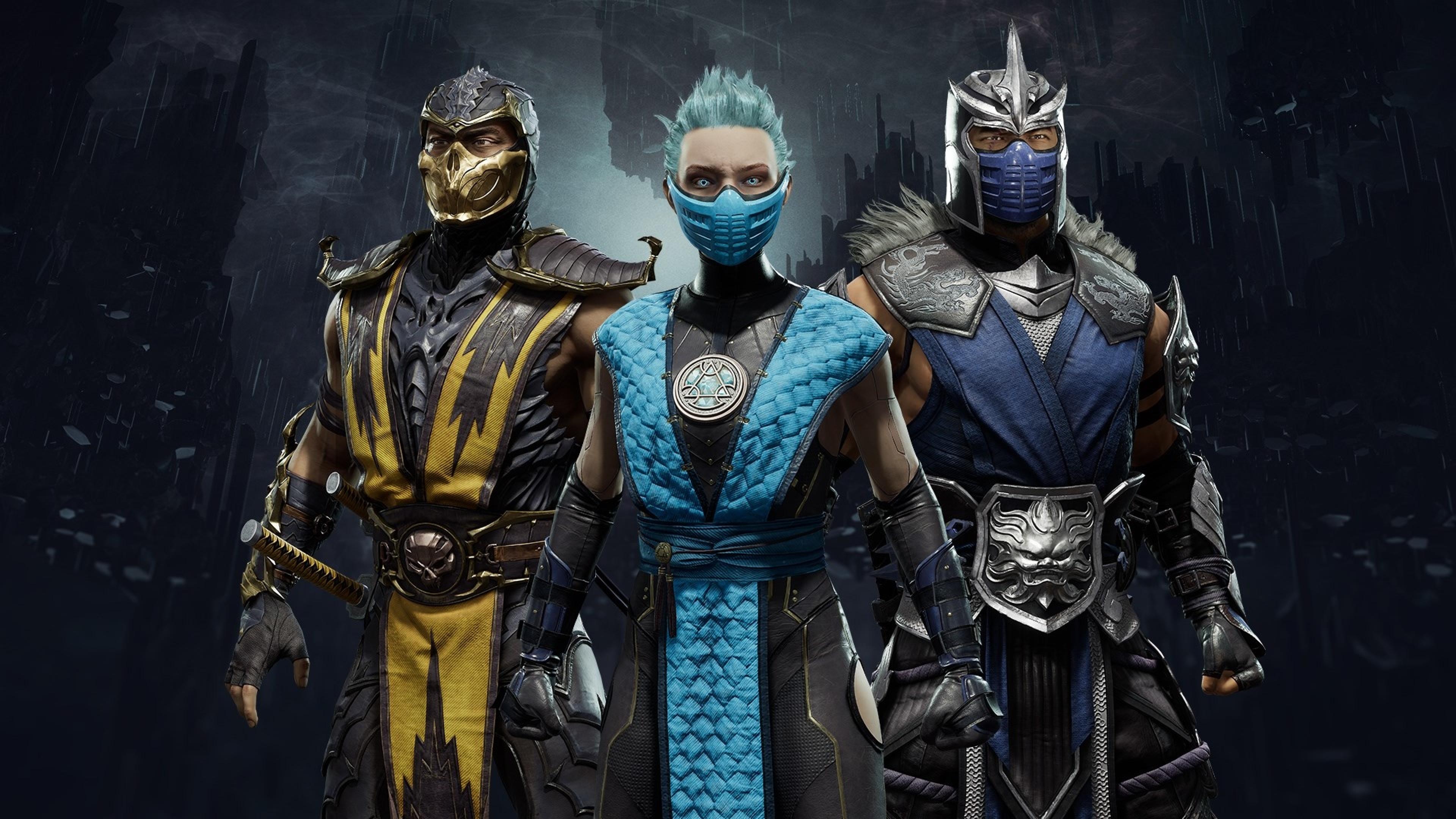 3840x2160 Mortal Kombat 11 Aftermath 2020 4k Wallpaper Hd Games