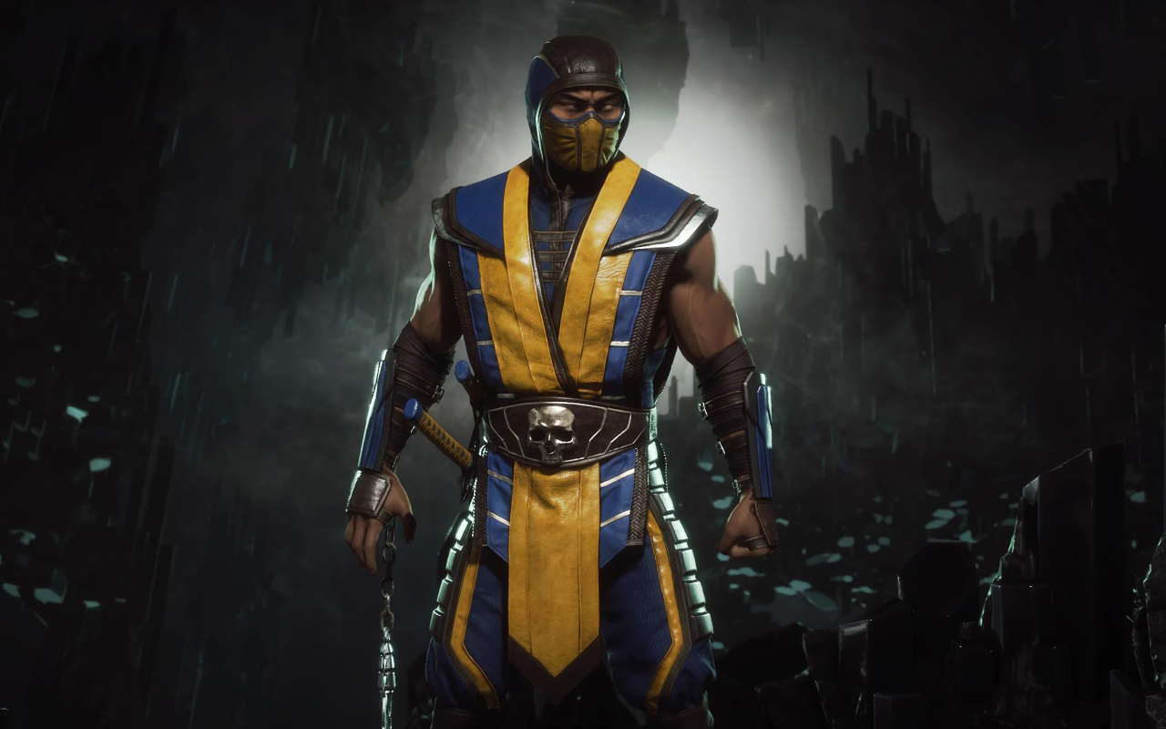 1280x800 Mortal Kombat 11 Scorpion 4K 1280x800 Resolution ...