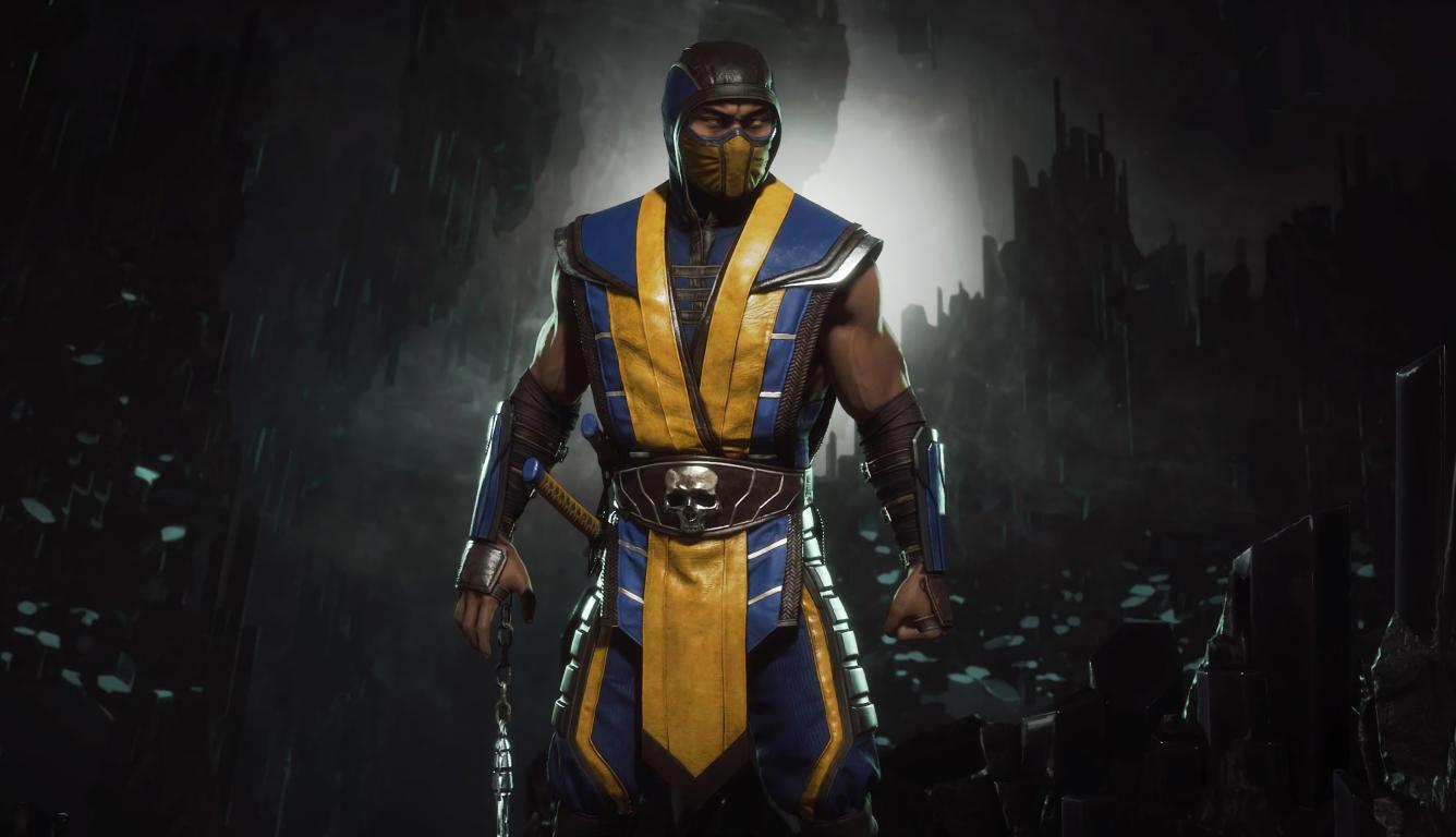 1336x768 Mortal Kombat 11 Scorpion 4K HD Laptop Image, HD ...