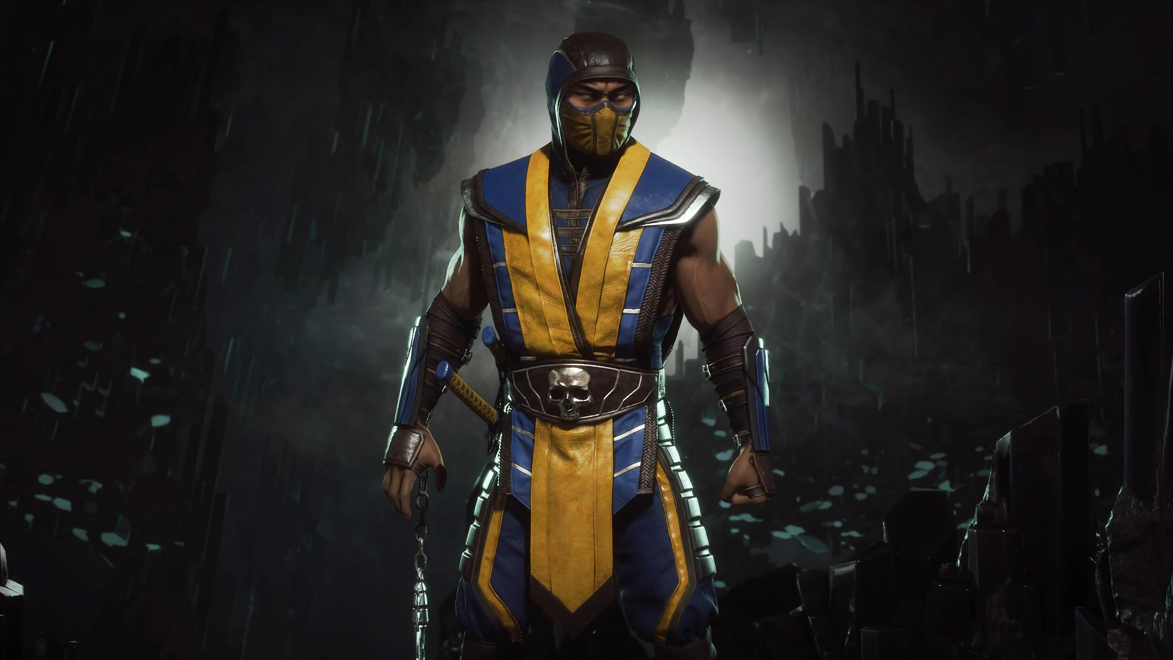 Mortal Kombat 4k Ultra Hd Wallpaper And Background Image: Mortal Kombat 11 Scorpion 4K Image, HD Games 4K Wallpapers