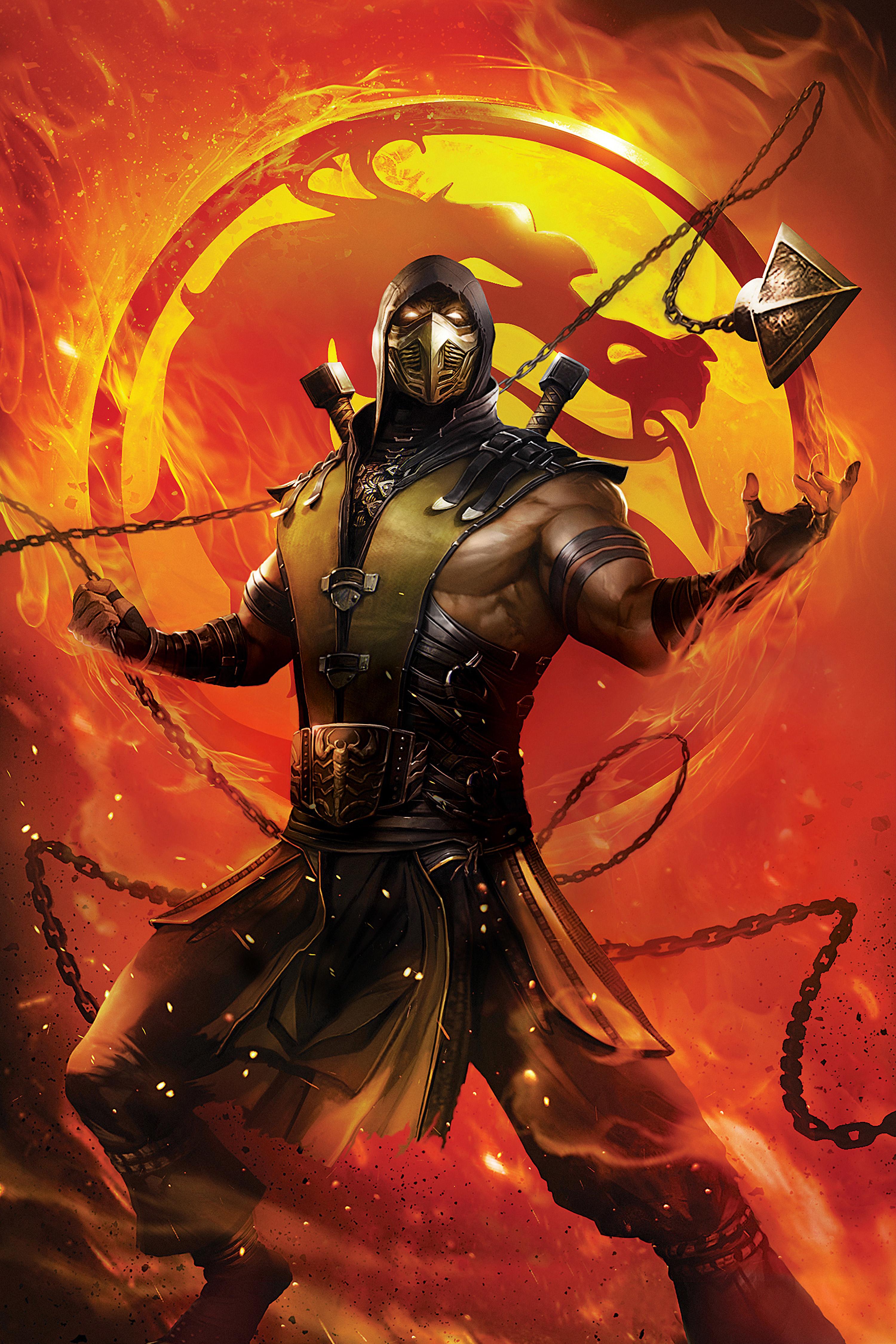 Mortal Kombat Legends Scorpions Revenge Movie Wallpaper ...