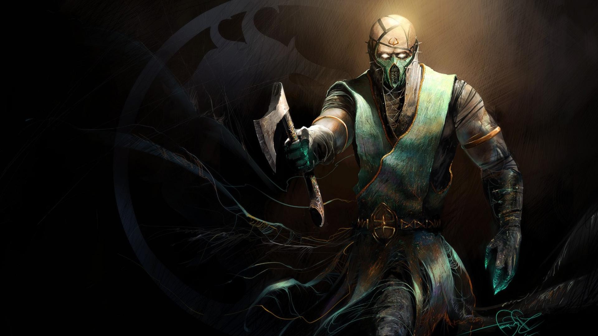 1920x1080 Mortal Kombat X Chameleon Art 1080p Laptop Full Hd