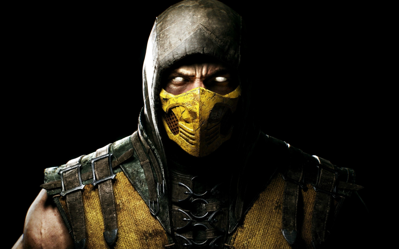 mortal kombat x scorpio ninja hd 4k wallpaper