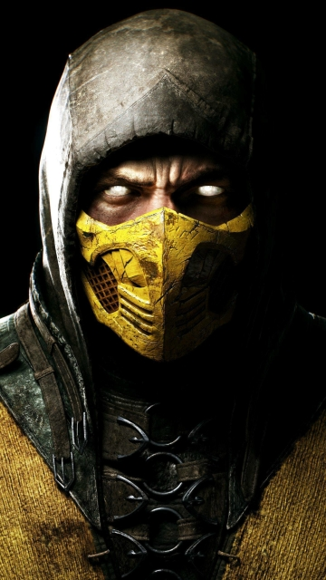 Mortal Kombat X, Scorpio, Ninja, HD 4K Wallpaper