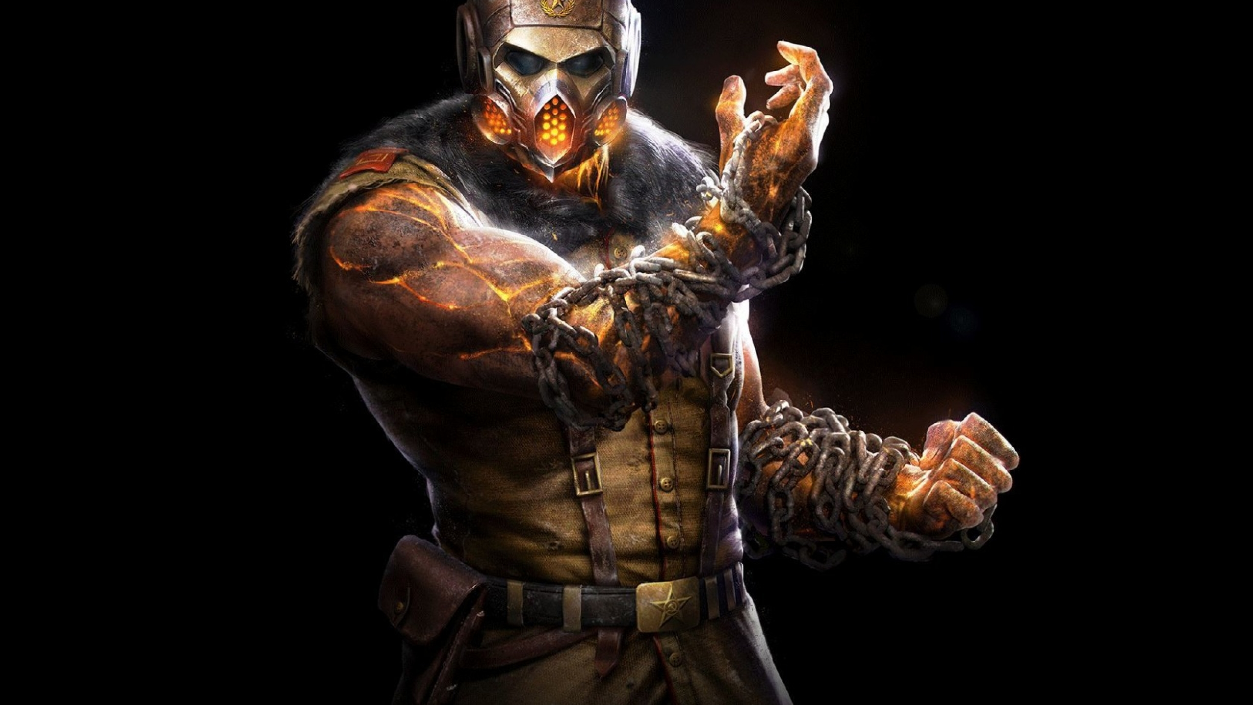 2560x1440 Mortal Kombat X Scorpion Ninja 1440p Resolution