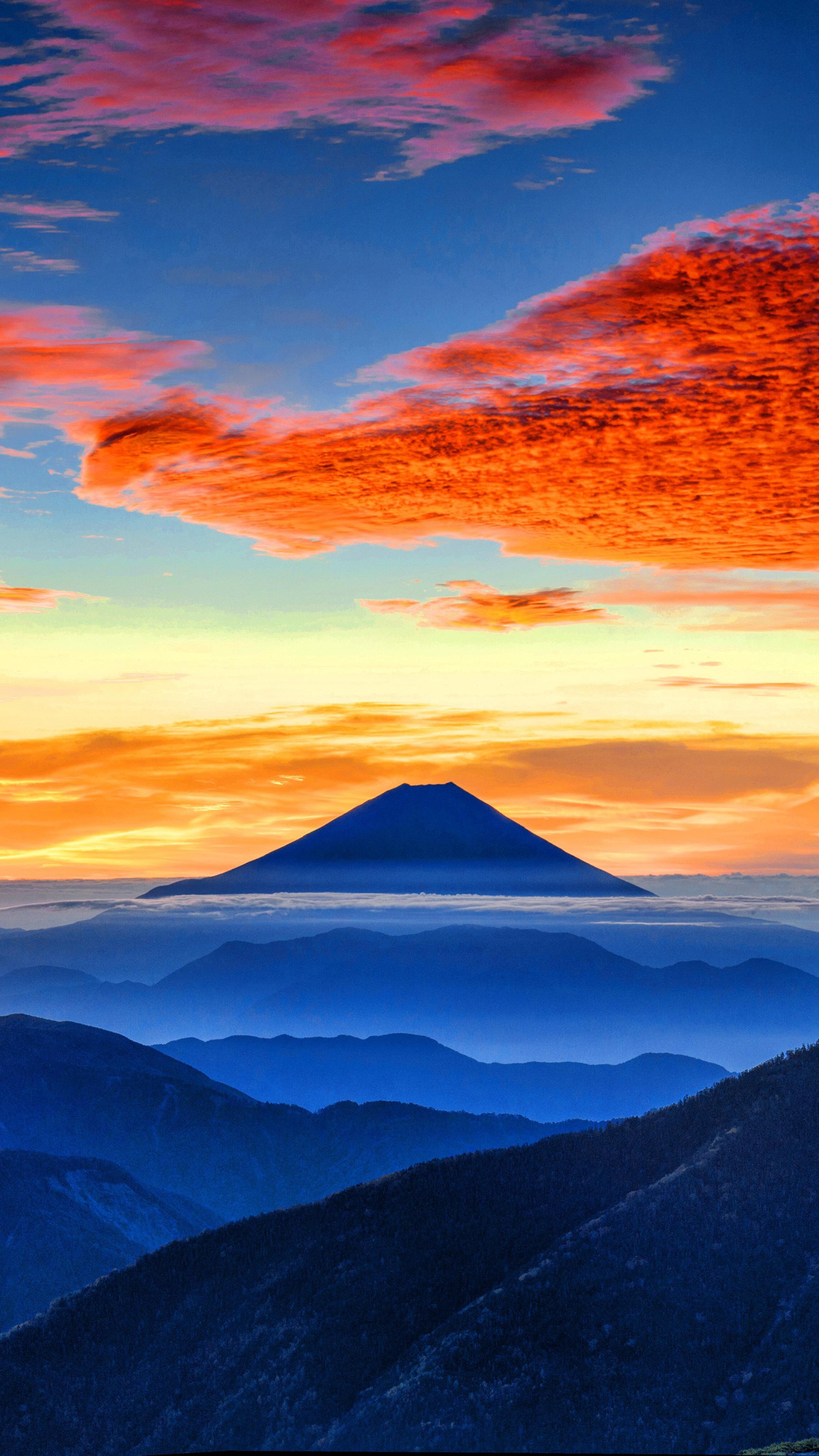 2160x3840 Mount Fuji 4k Sony Xperia Xxzz5 Premium