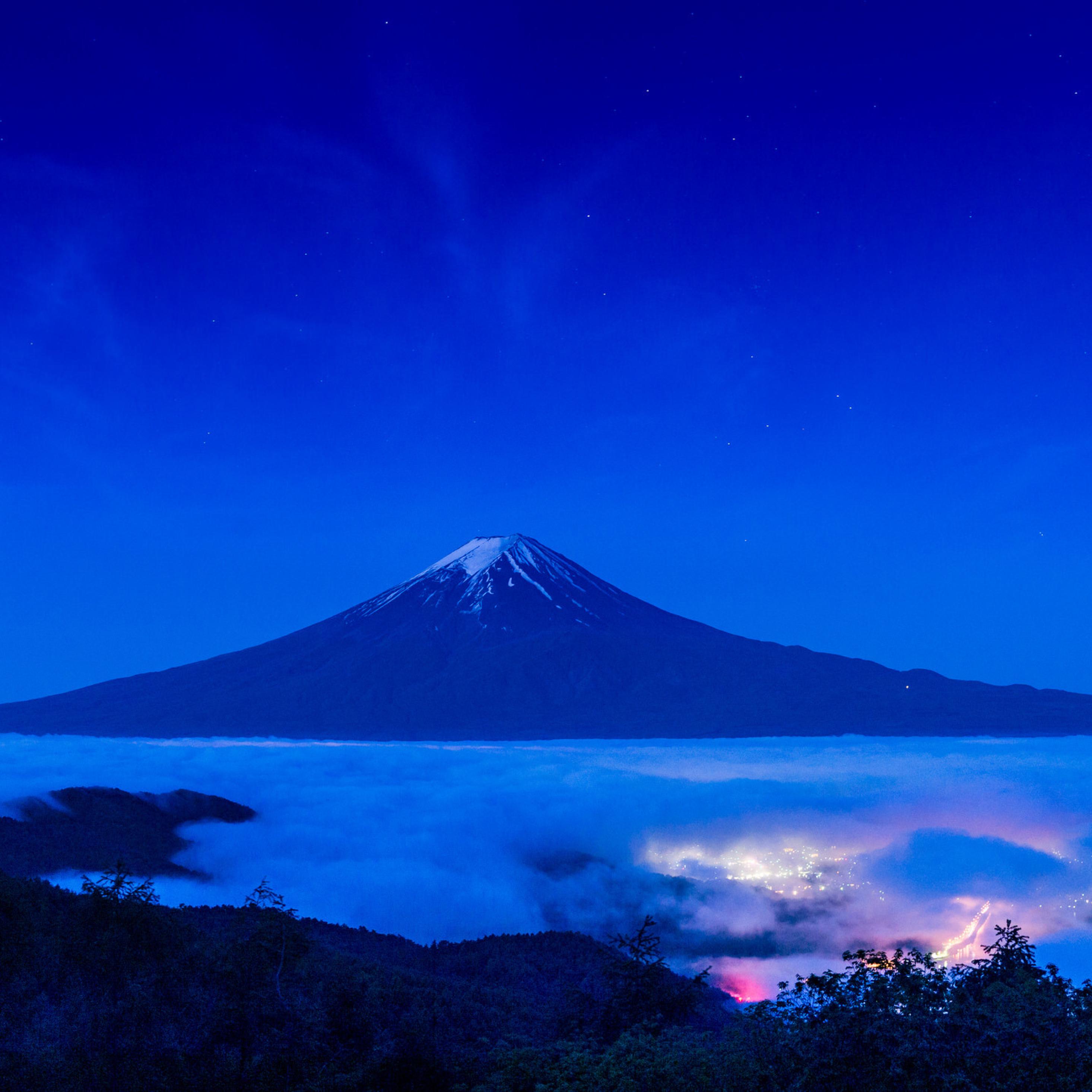 Mount Hd Wallpaper: Mount Fuji Beautiful Shot, Full HD 2K Wallpaper