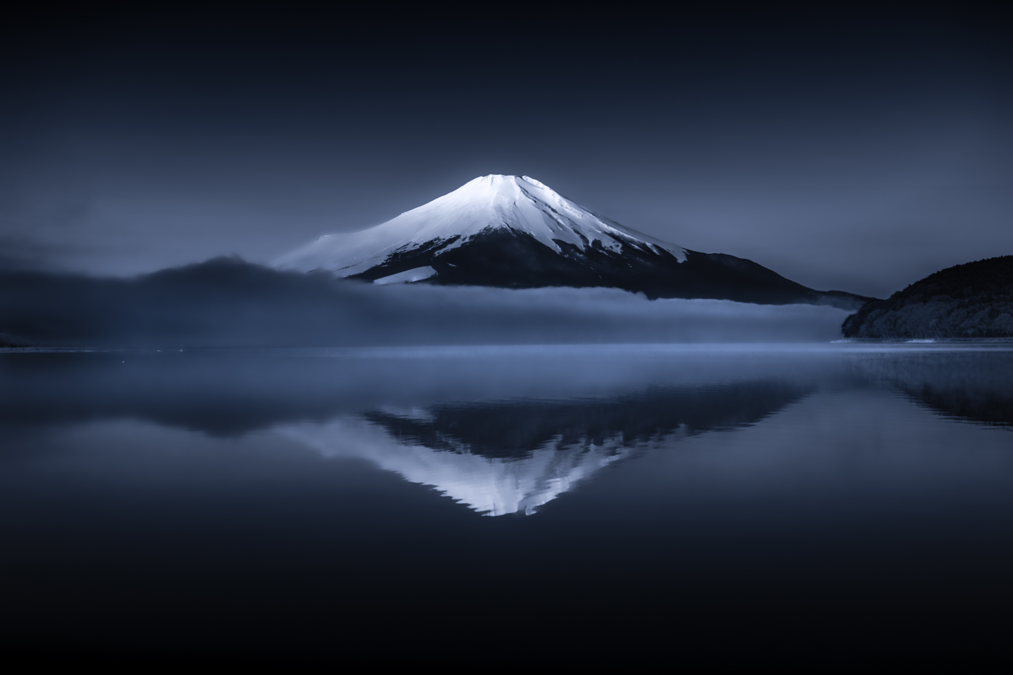 Mount Fuji Reflection Wallpaper Hd Nature 4k Wallpapers