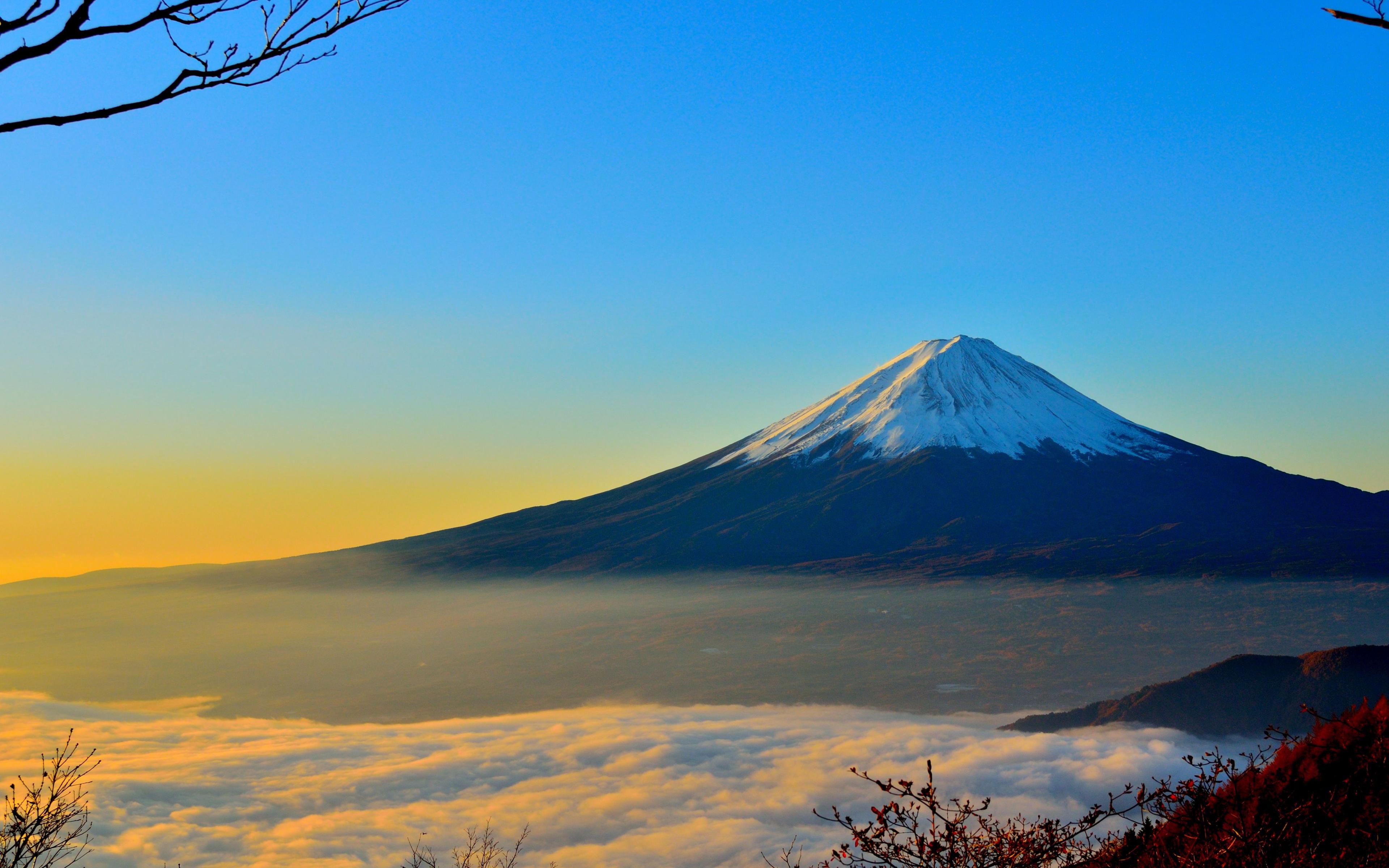 Mount Fuji Sunrise Hd 4k Wallpaper