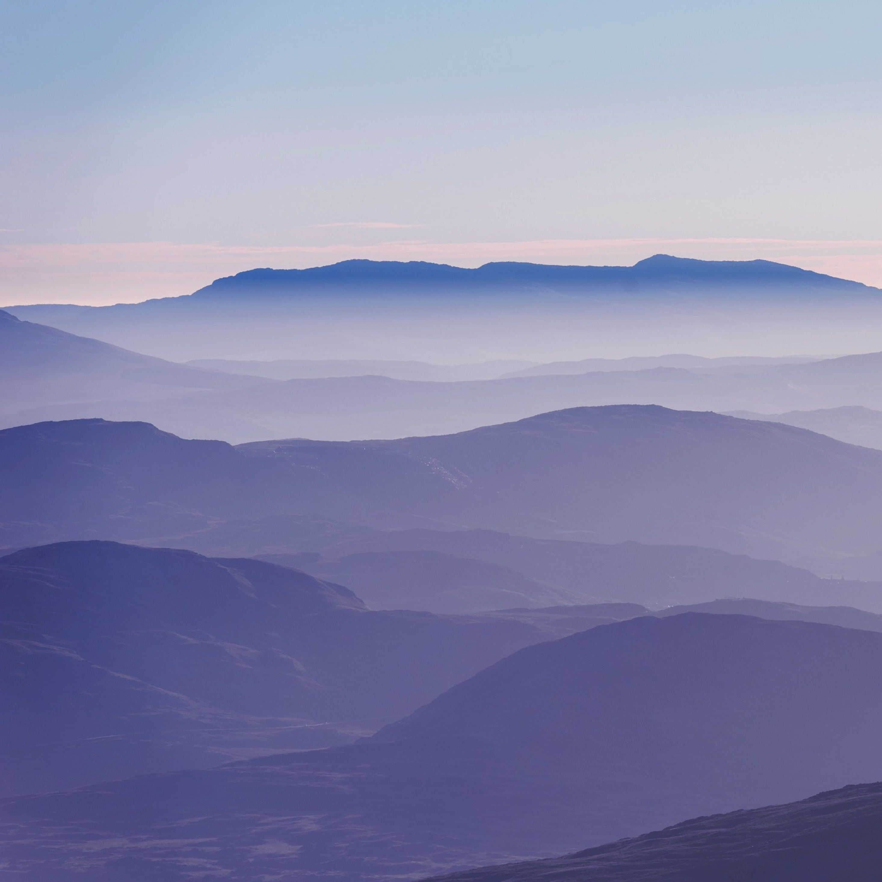Amazing Wallpaper Mountain Ipad Pro - mountain-layers_61581_2932x2932  Pic_24513.jpg